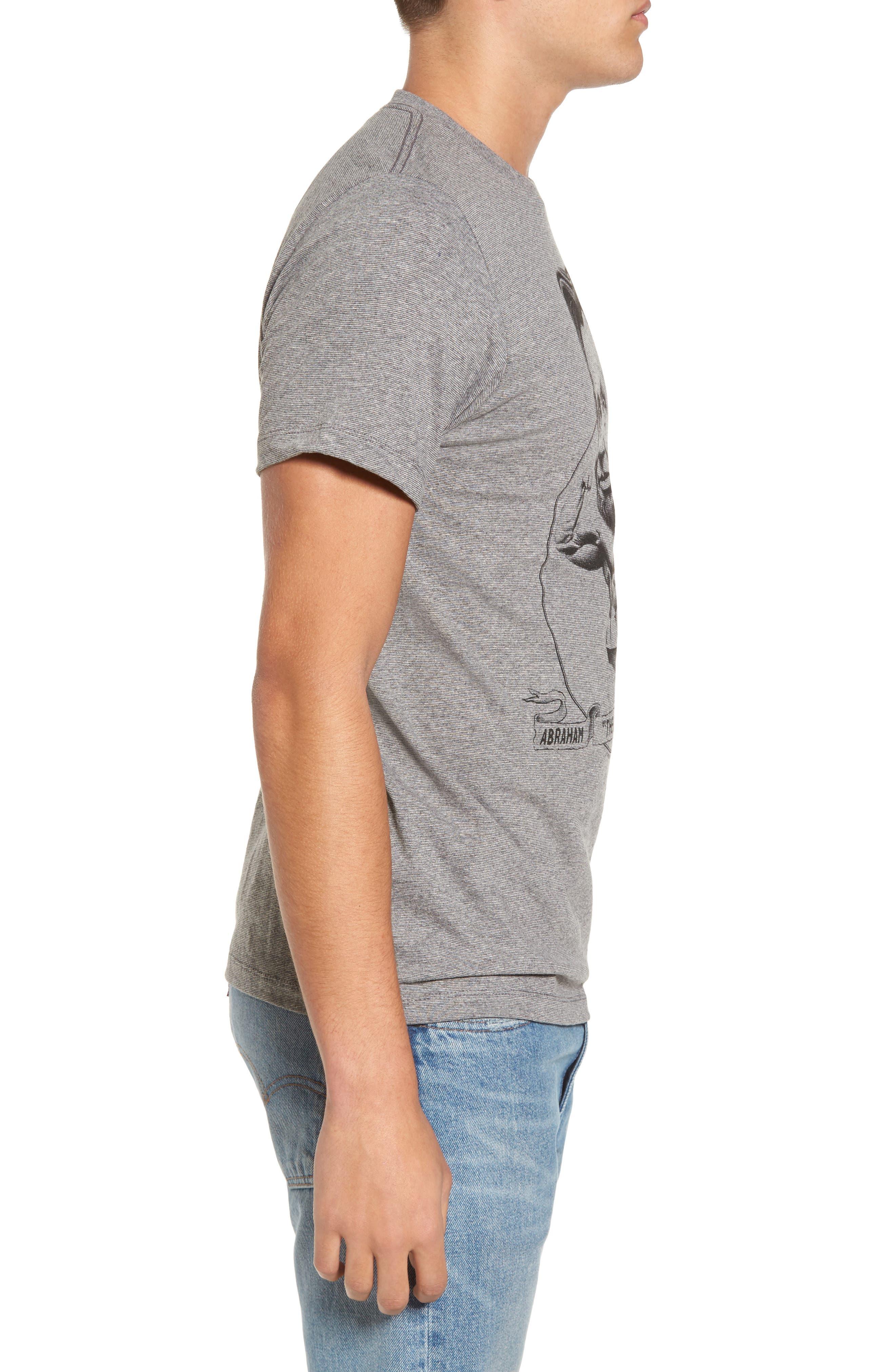 Abe Lincoln T-Shirt,                             Alternate thumbnail 3, color,