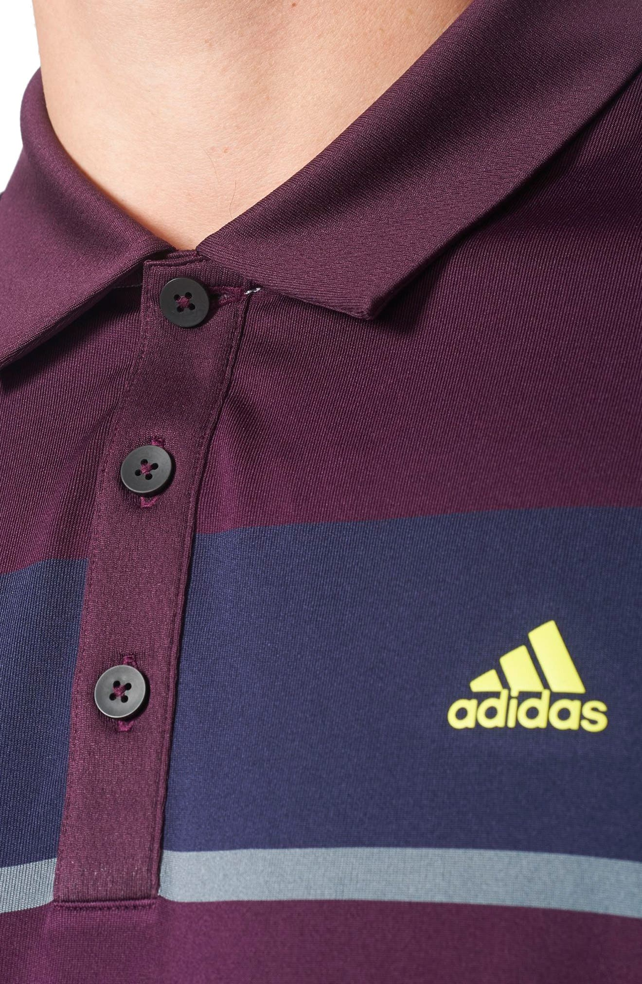 Climacool<sup>®</sup> Colorblocked Polo,                             Alternate thumbnail 4, color,