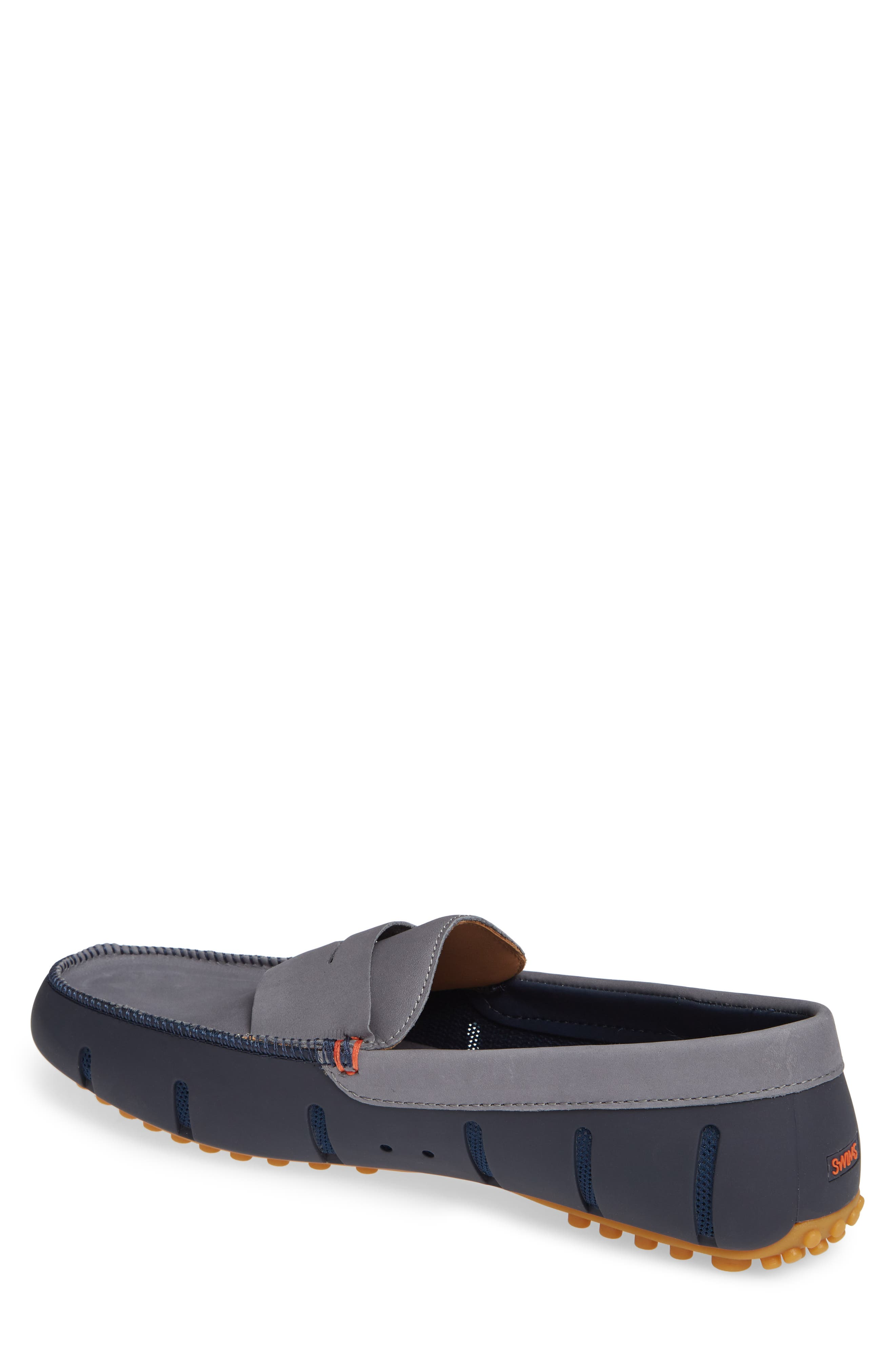 Lux Penny Loafer,                             Alternate thumbnail 2, color,                             NAVY/ GRAY/ GUM