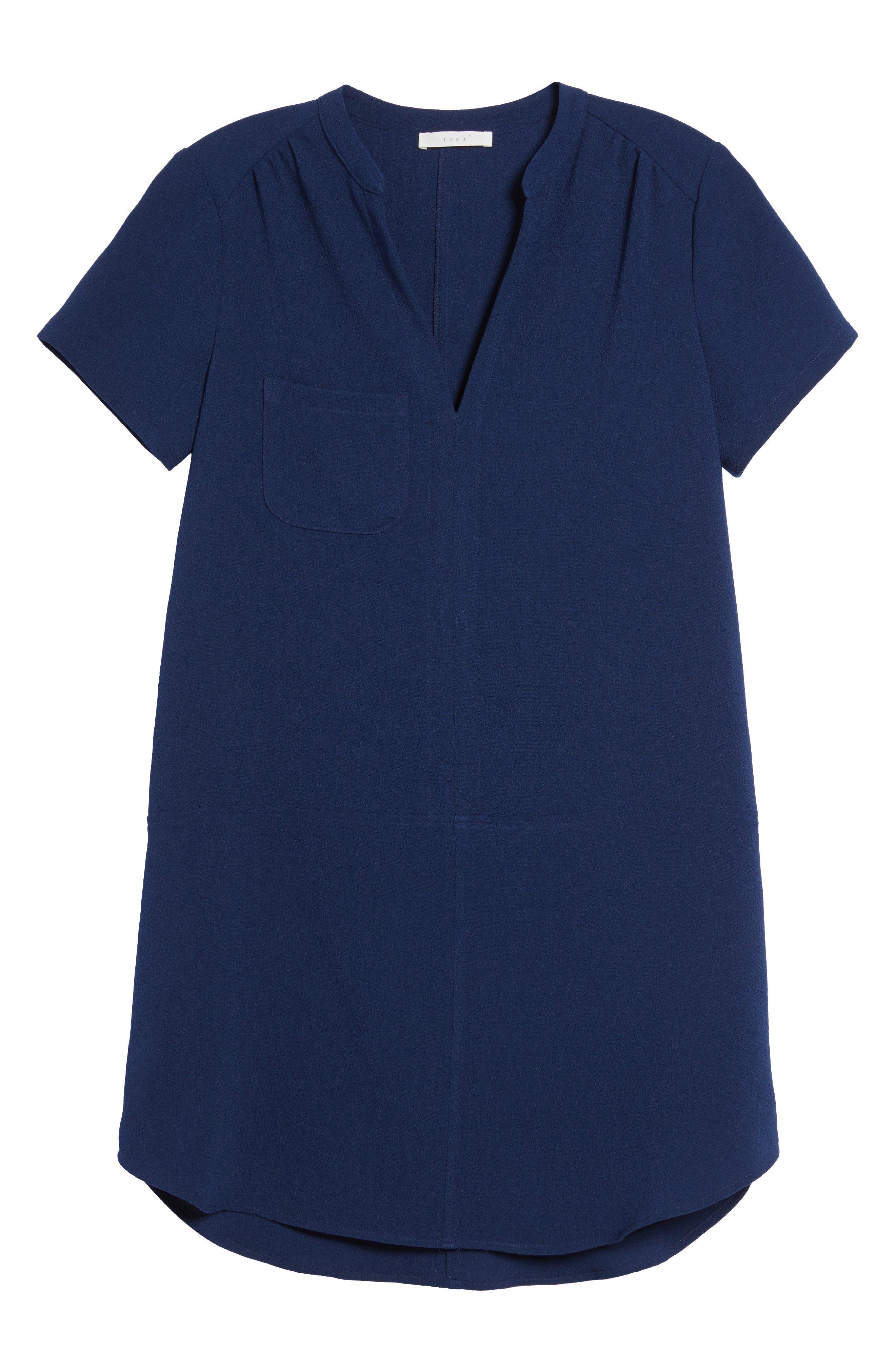 Hailey Crepe Dress,                             Alternate thumbnail 167, color,