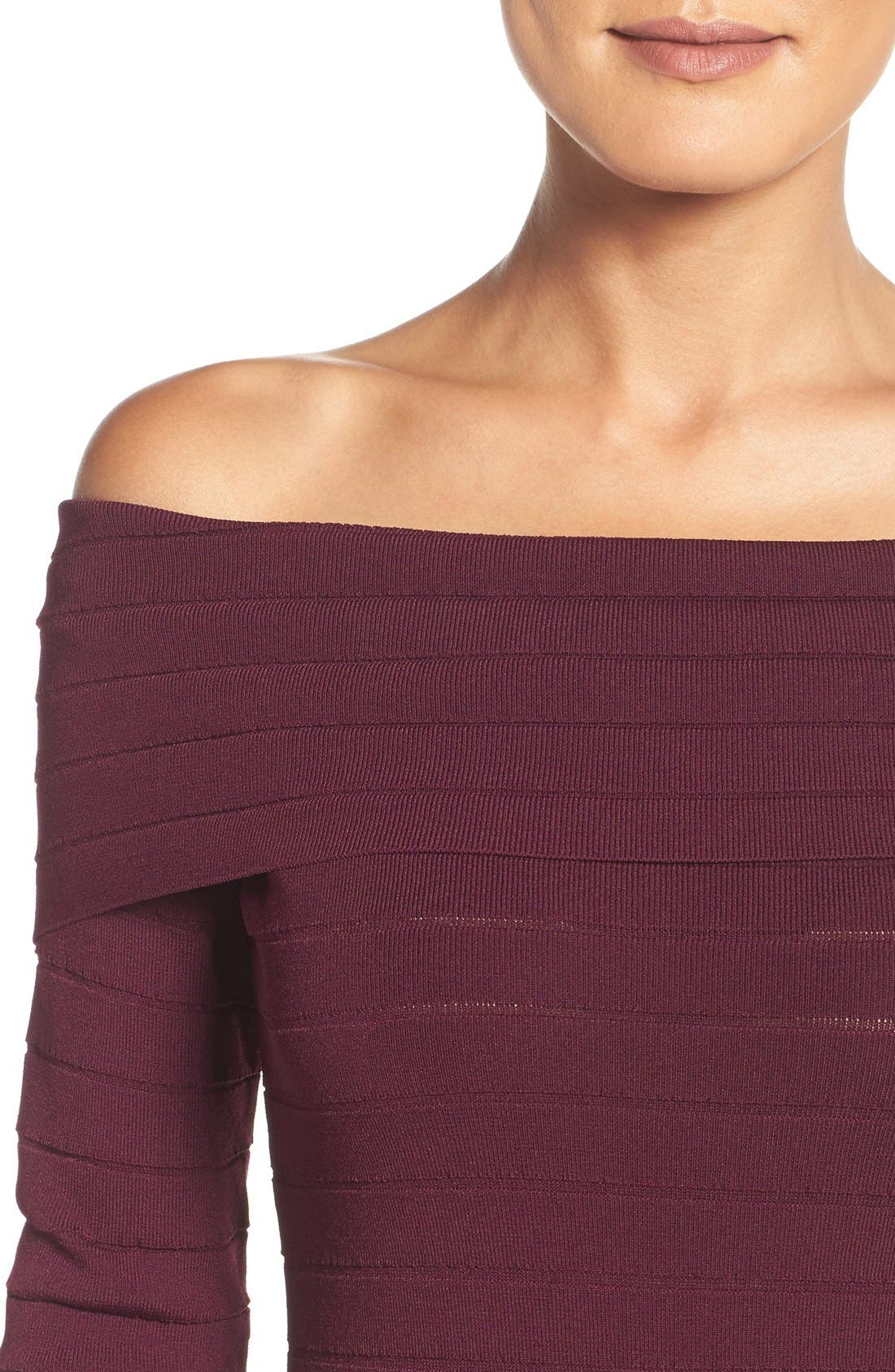 Bandage Midi Dress,                             Alternate thumbnail 33, color,