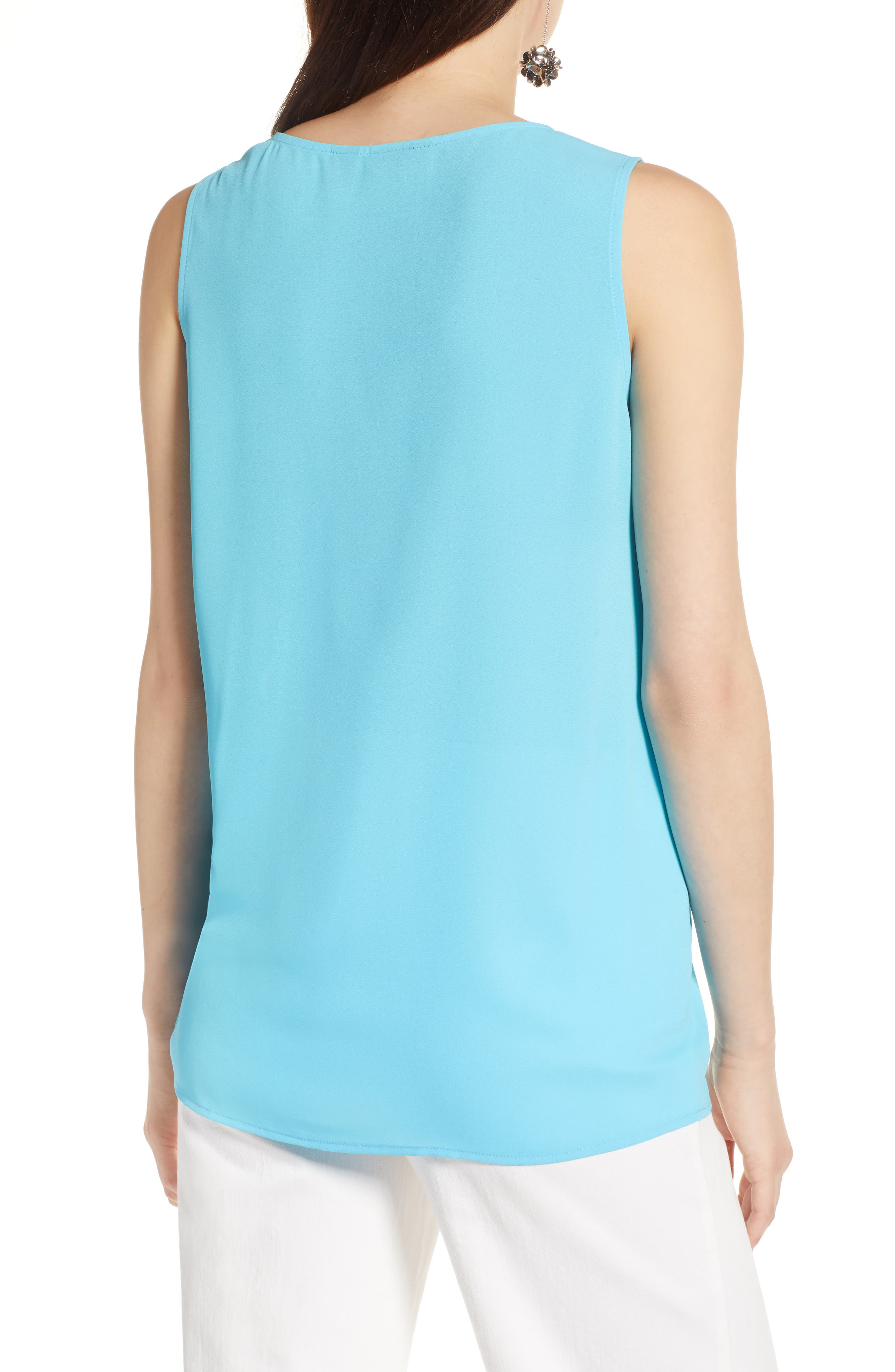 Side Ruched Top,                             Alternate thumbnail 9, color,