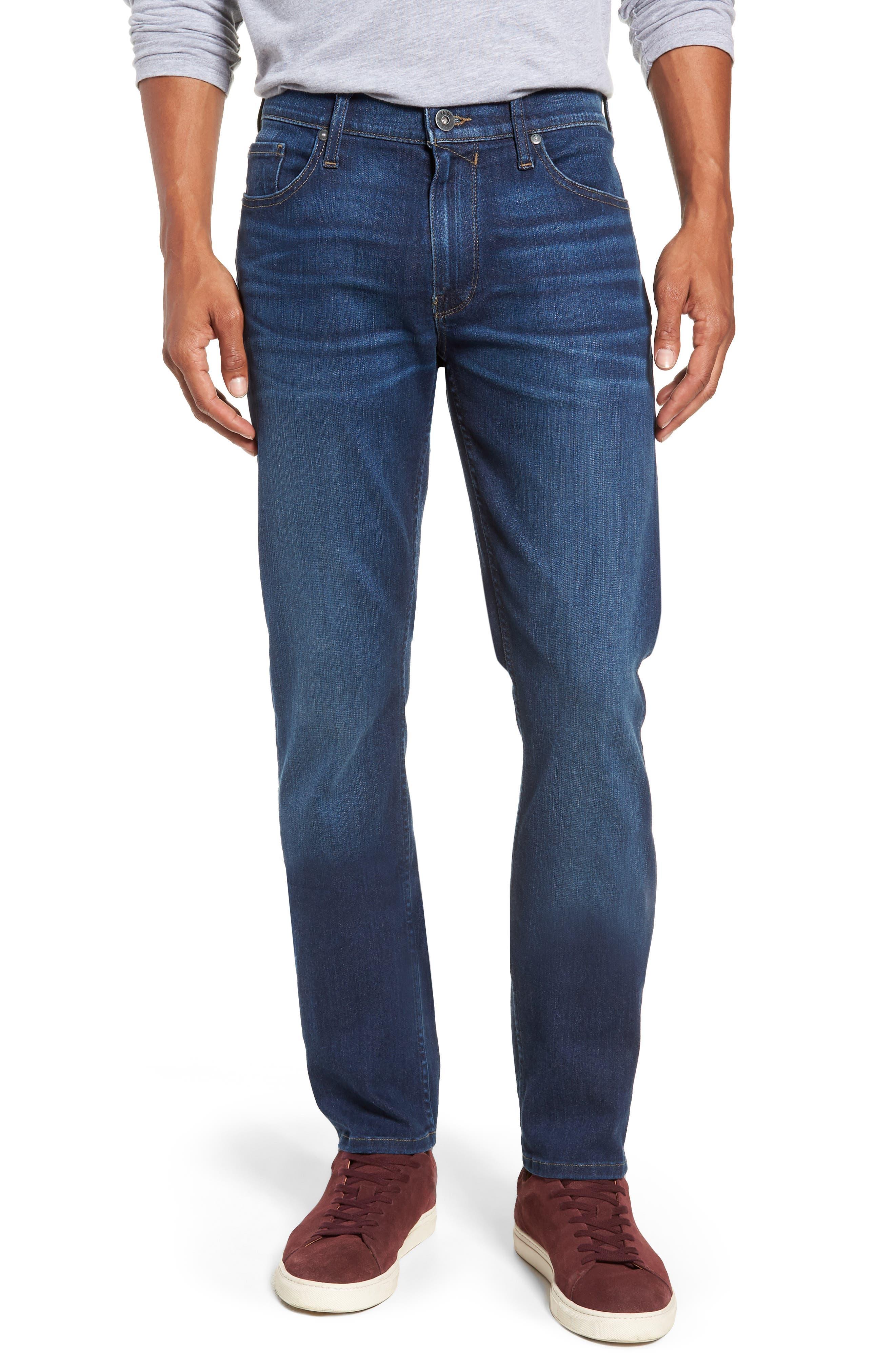 Transcend Vintage - Federal Slim Straight Leg Jeans,                             Main thumbnail 1, color,                             ELWYN