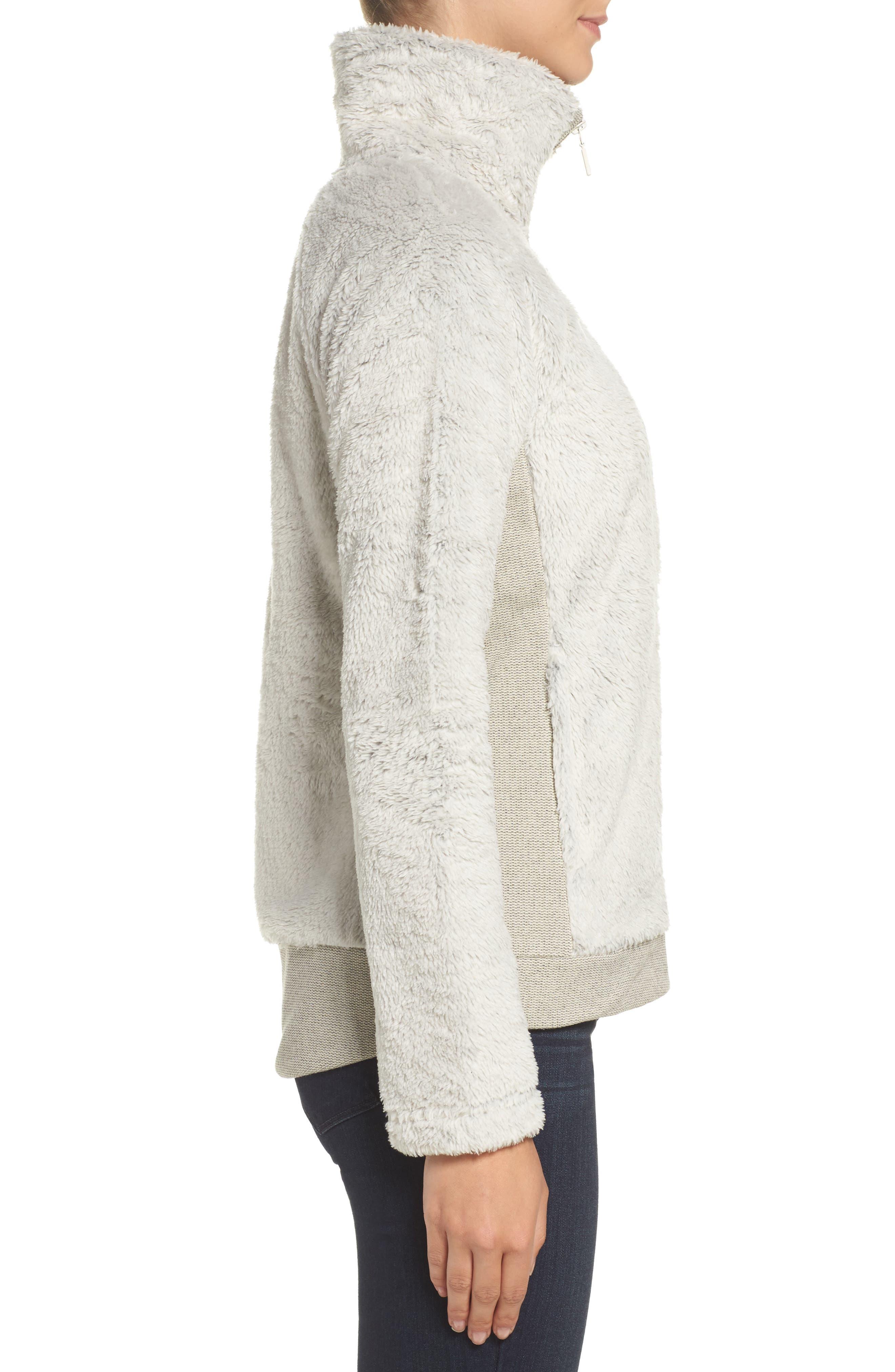 Furry Fleece Jacket,                             Alternate thumbnail 22, color,