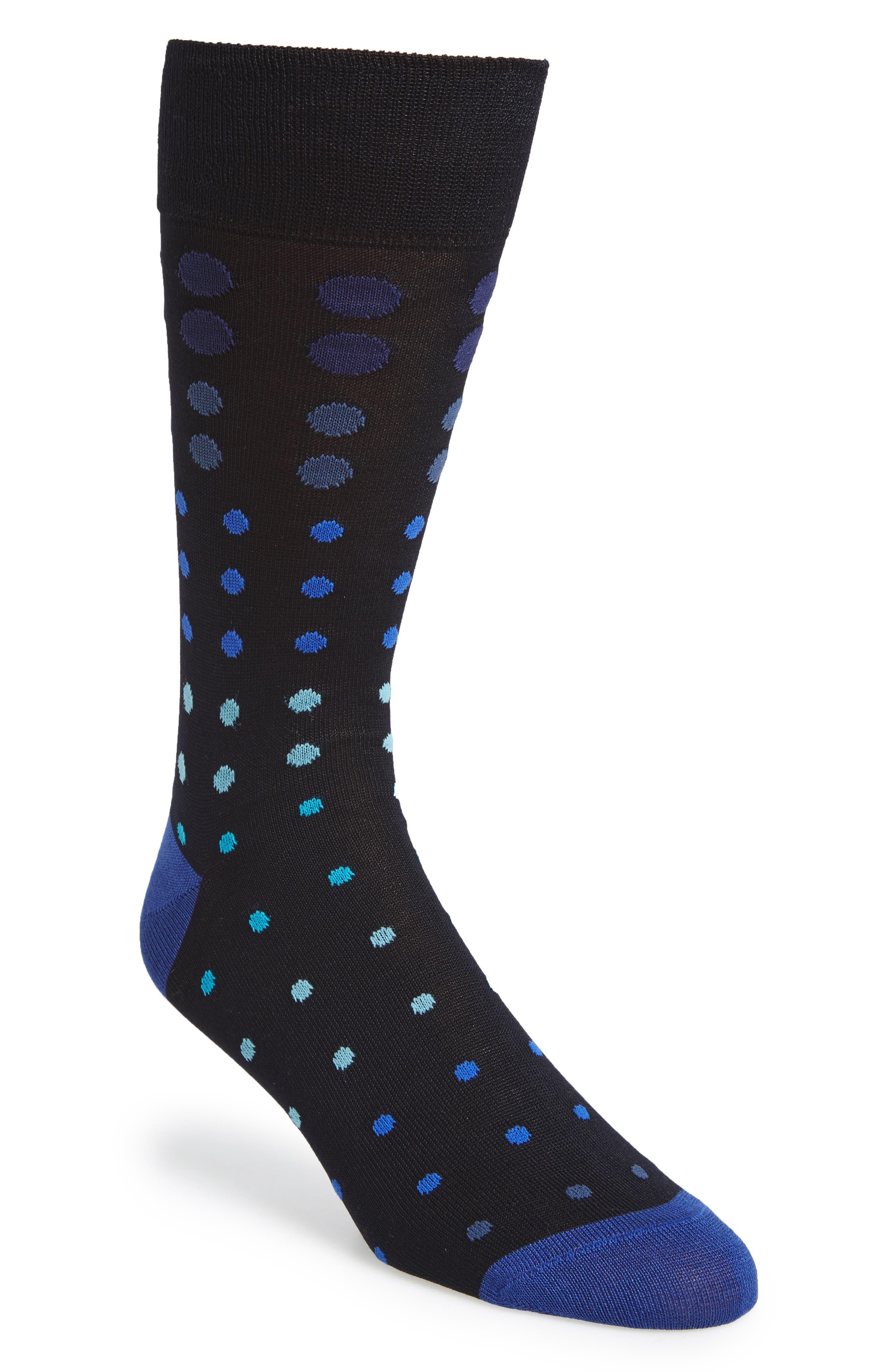 Dot Socks,                         Main,                         color, 415