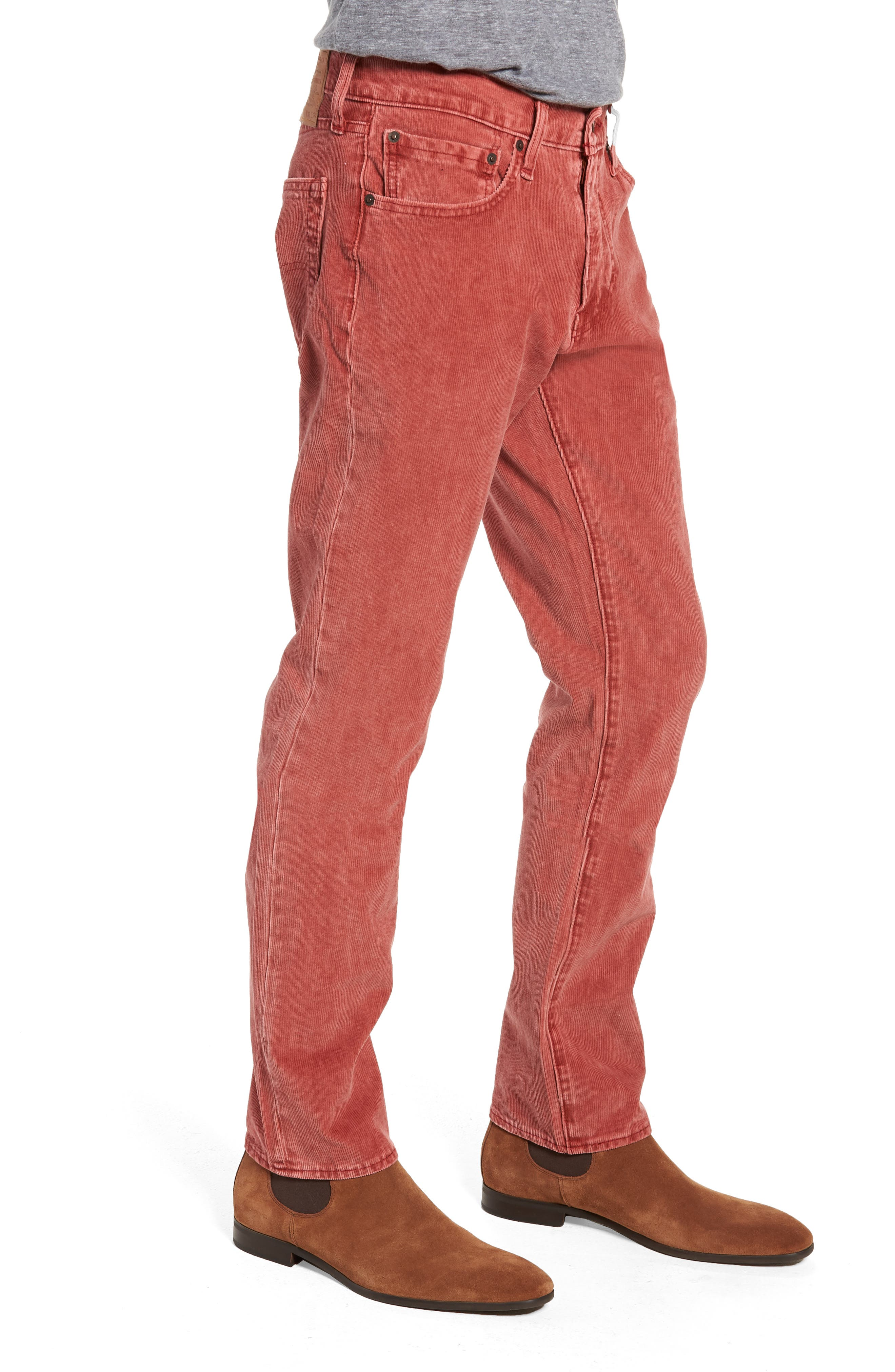 511<sup>™</sup> Slim Fit Corduroy Pants,                             Alternate thumbnail 3, color,                             RALLY RED