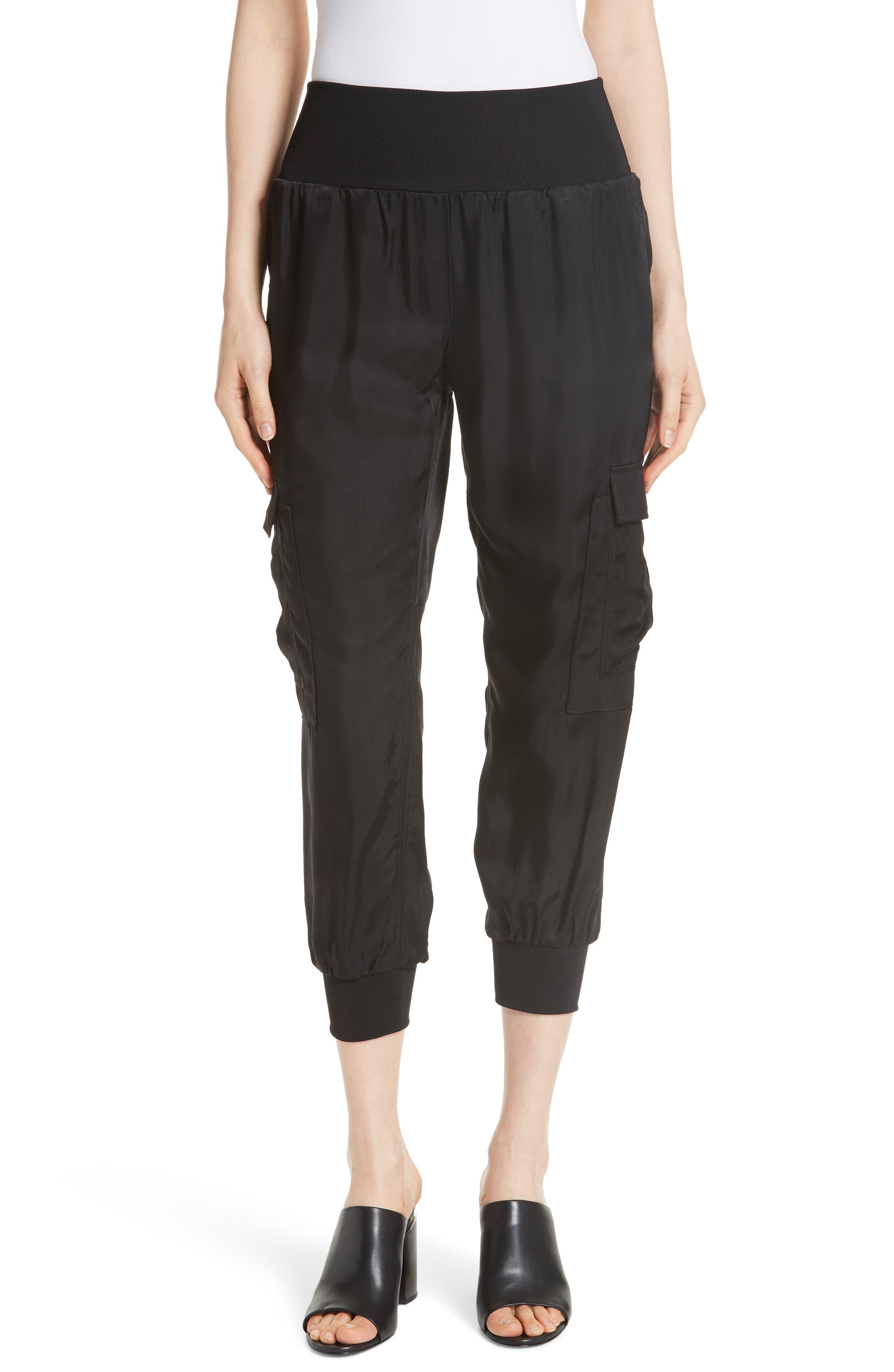 Tous Les Jour Giles Jogger Pants,                         Main,                         color, BLACK