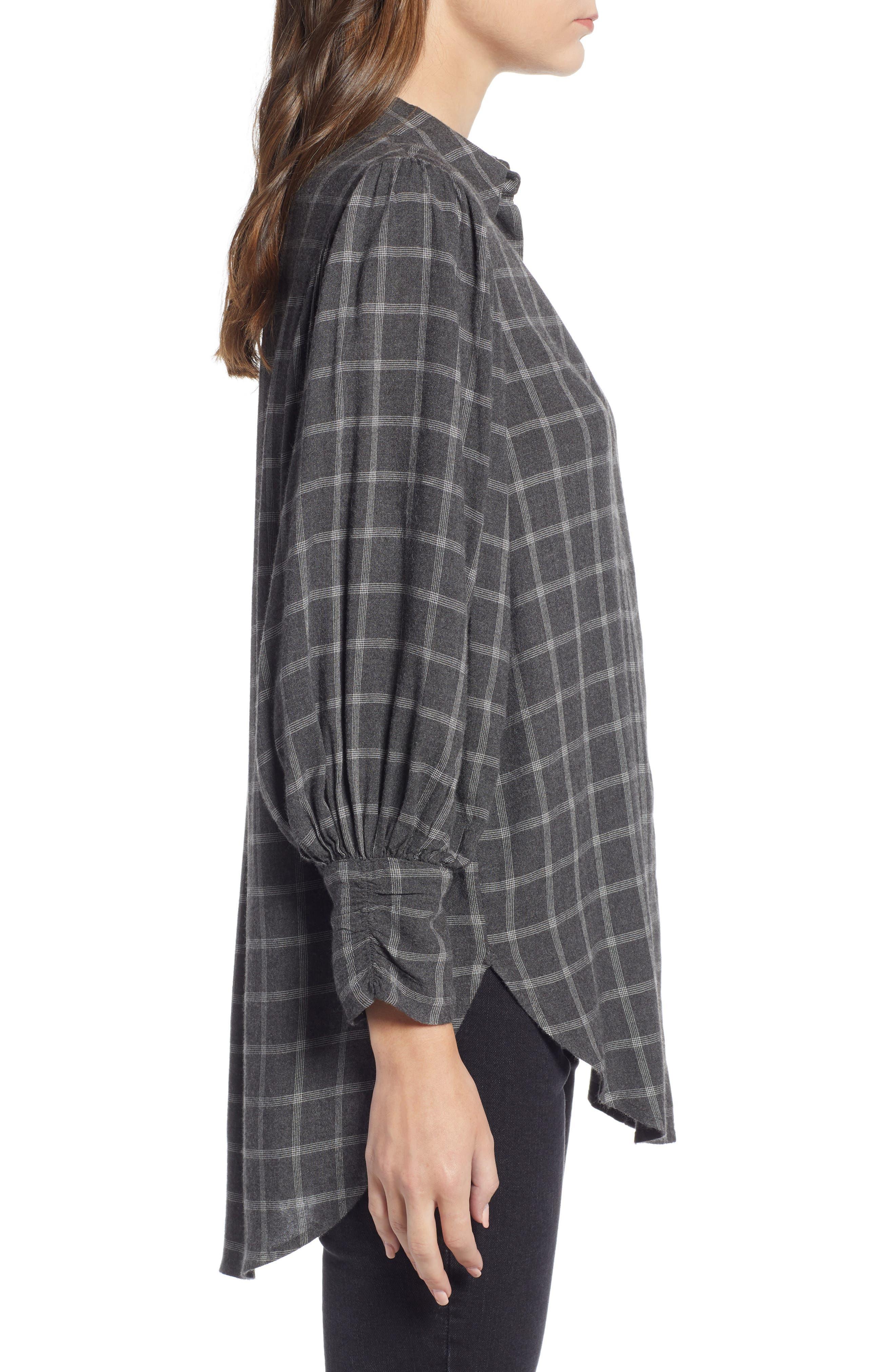 Full Sleeve Flannel Shirt,                             Alternate thumbnail 4, color,                             030