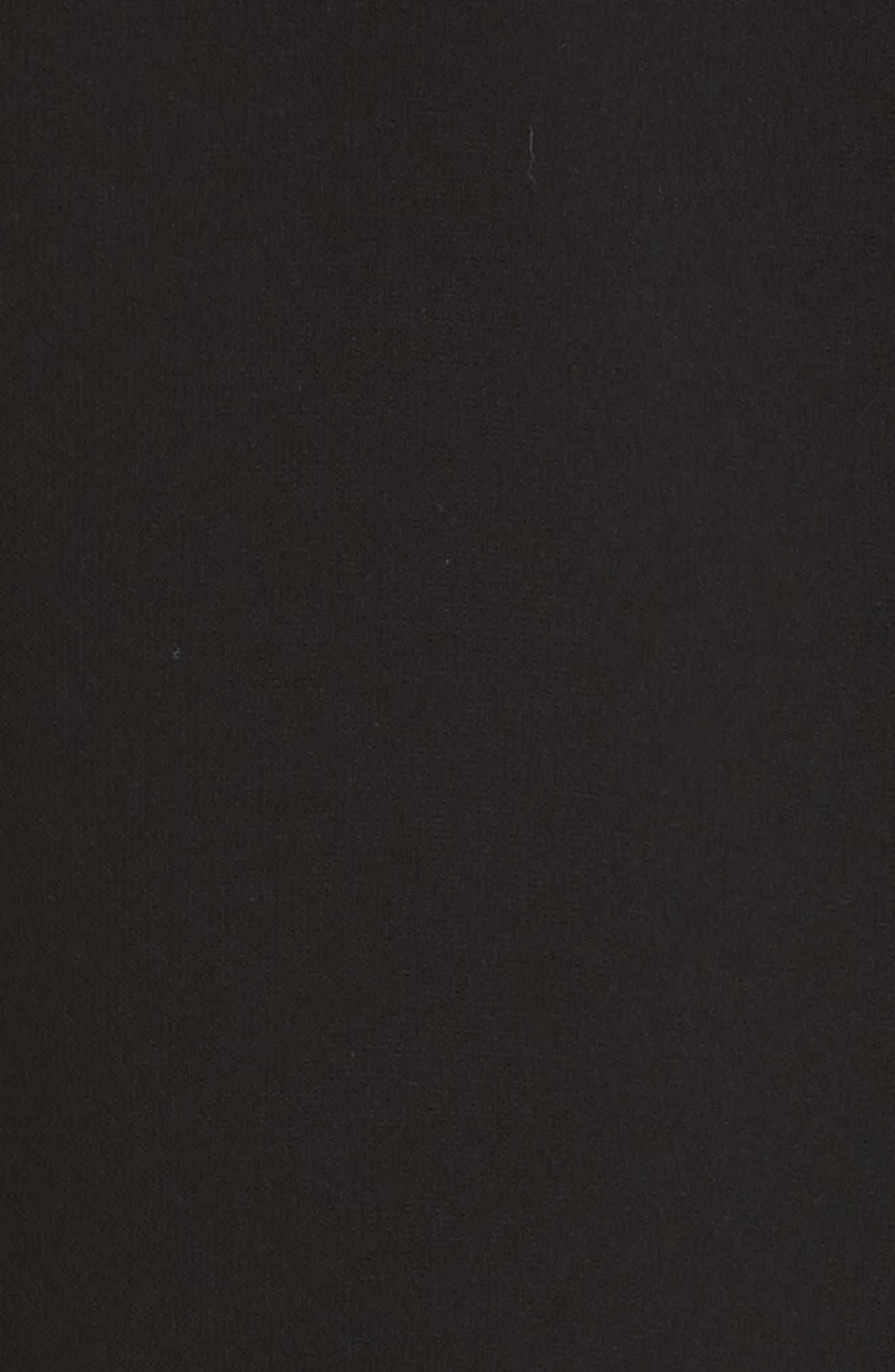 EMPORIO ARMANI,                             Draped Cady Shift Dress,                             Alternate thumbnail 5, color,                             004