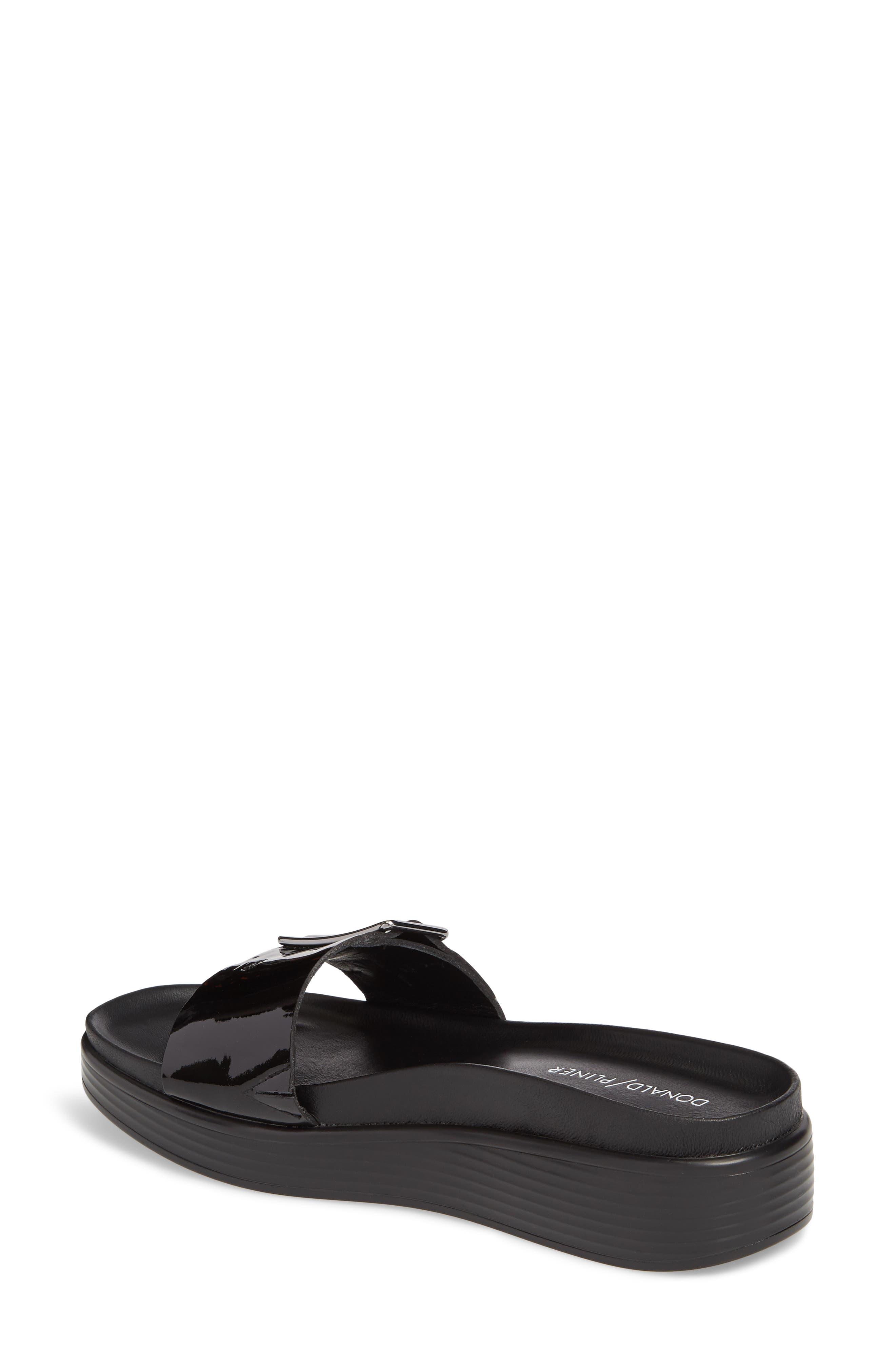 Fara Platform Slide Sandal,                             Alternate thumbnail 2, color,                             001