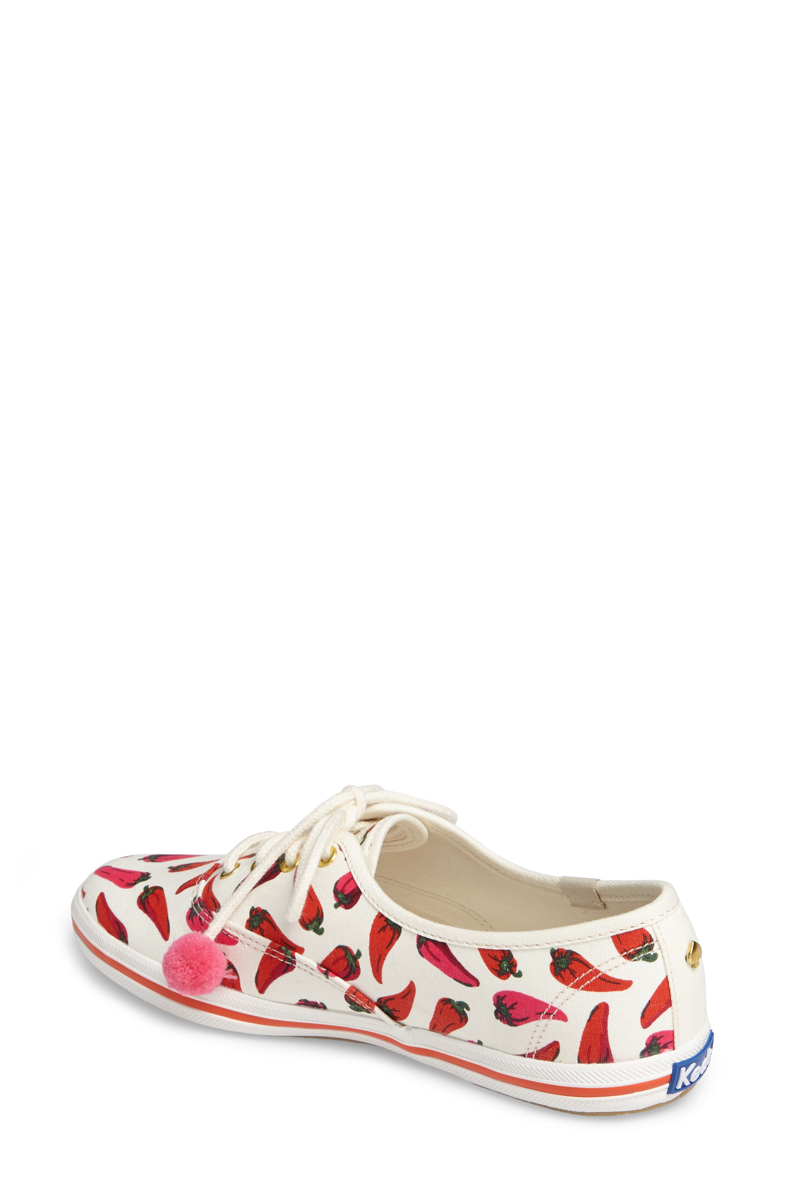 Keds<sup>®</sup> x kate spade new york champion sneaker,                             Alternate thumbnail 8, color,