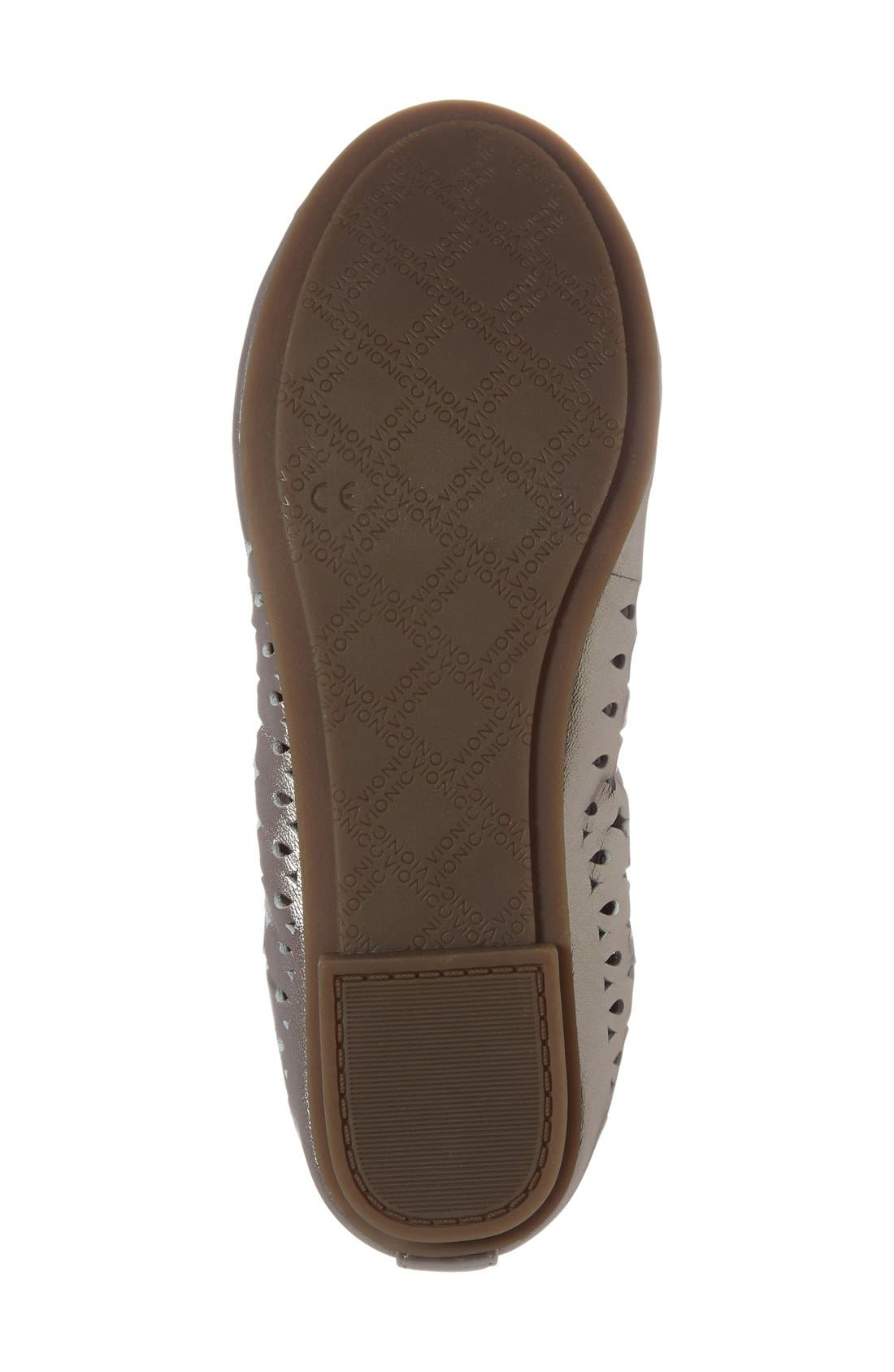 'Surin' Perforated Ballet Flat,                             Alternate thumbnail 18, color,