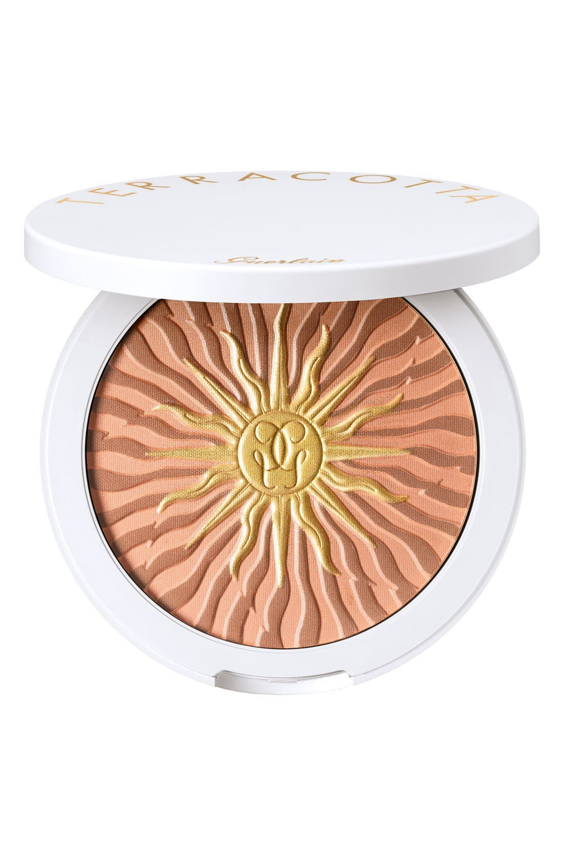 GUERLAIN,                             'Terracotta Terre d'Été' Tan-Enhancing Bronzer,                             Main thumbnail 1, color,                             000