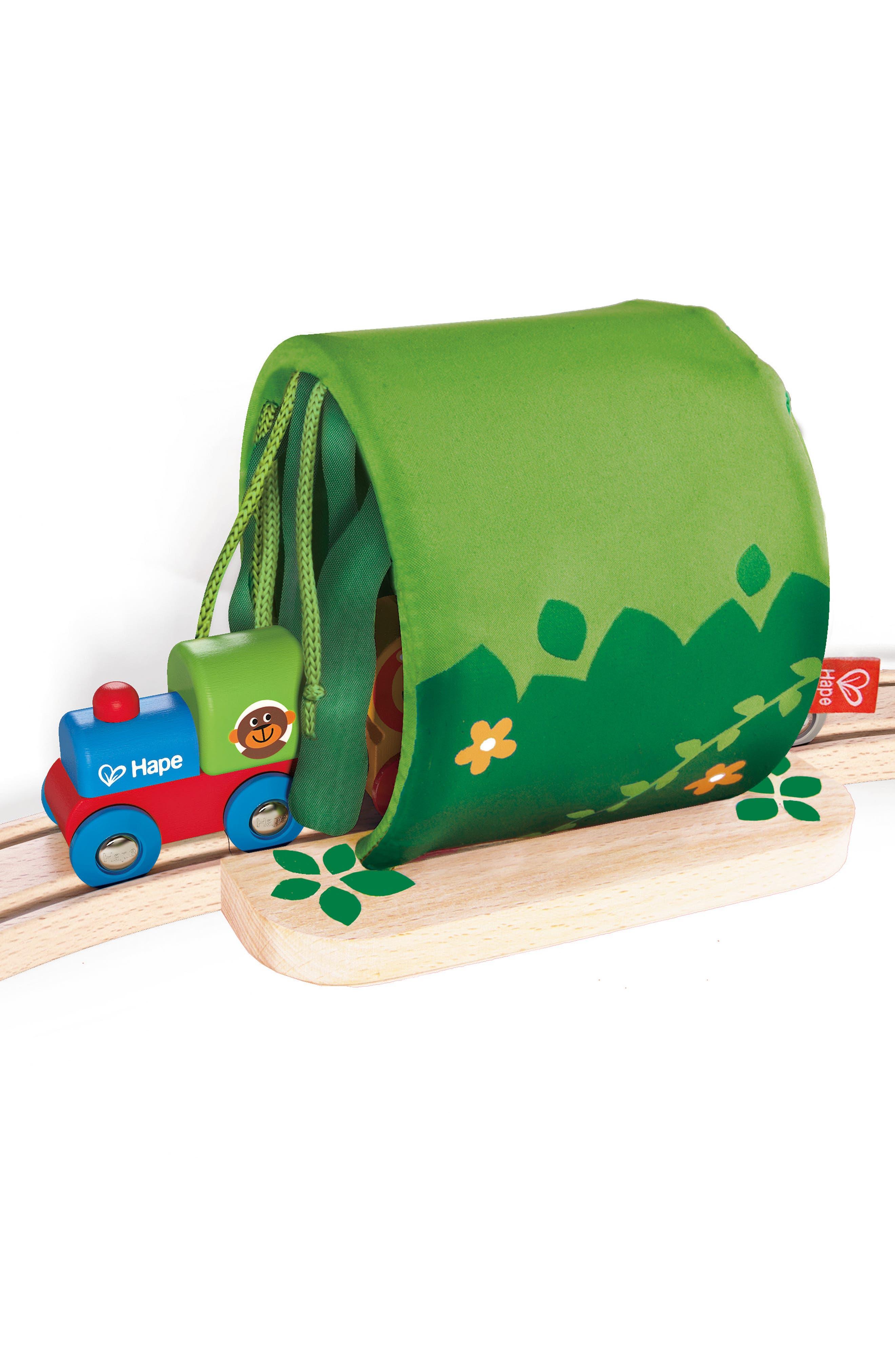 Jungle Train Journey Wooden Train Set,                             Alternate thumbnail 2, color,