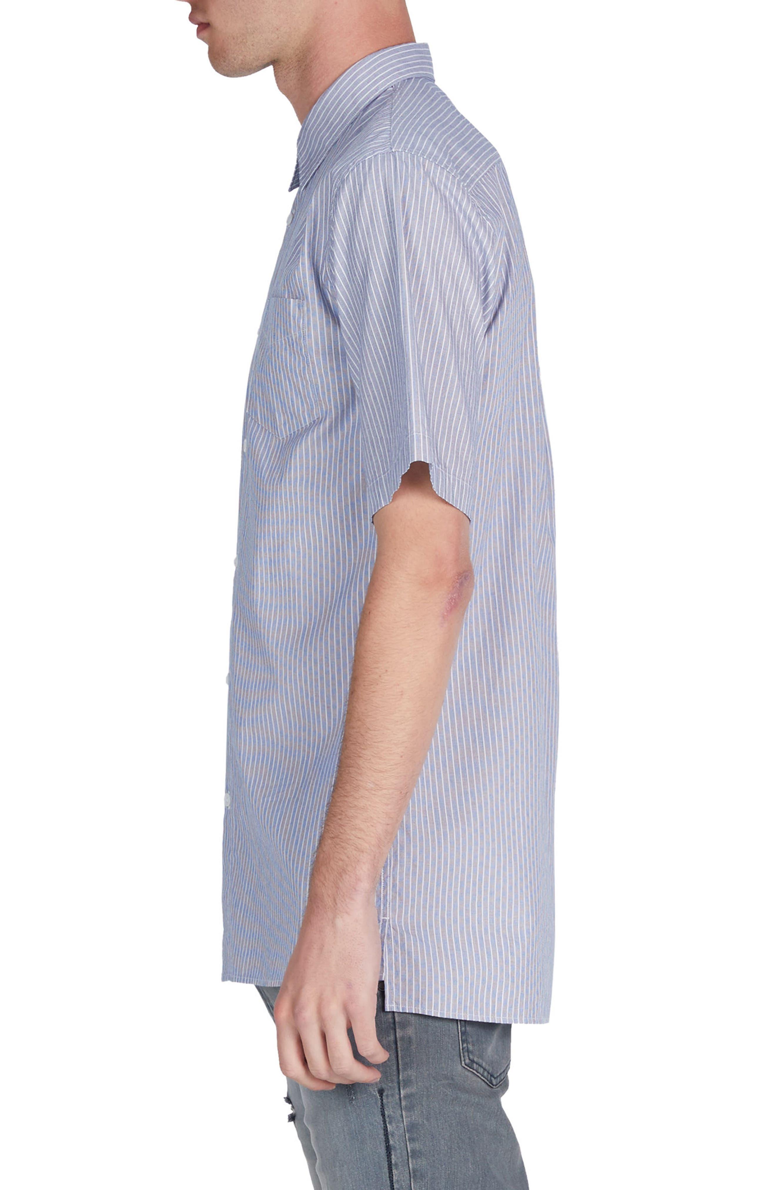 Stripe Box Shirt,                             Alternate thumbnail 3, color,