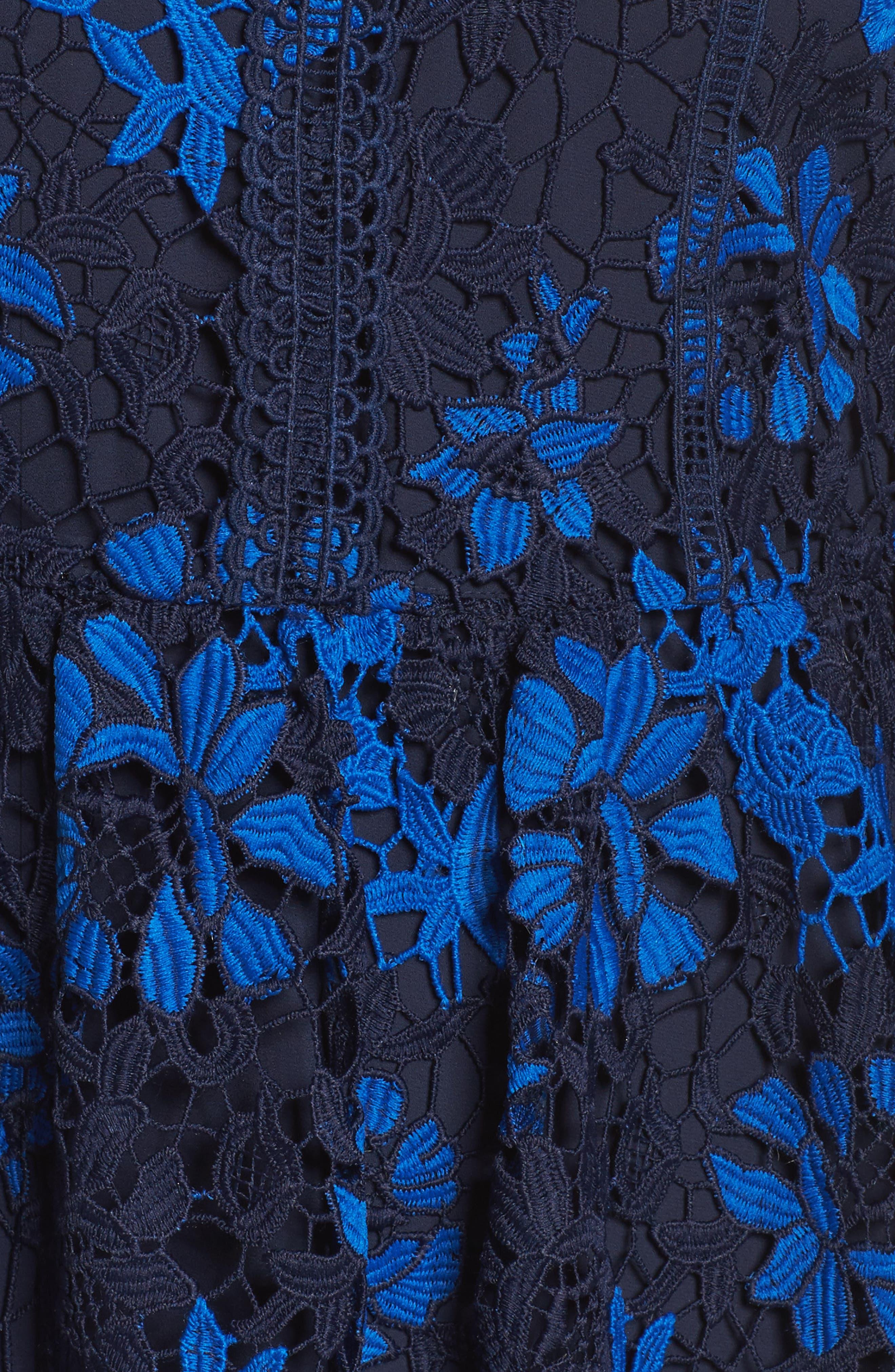 Musa Lace Dress,                             Alternate thumbnail 5, color,