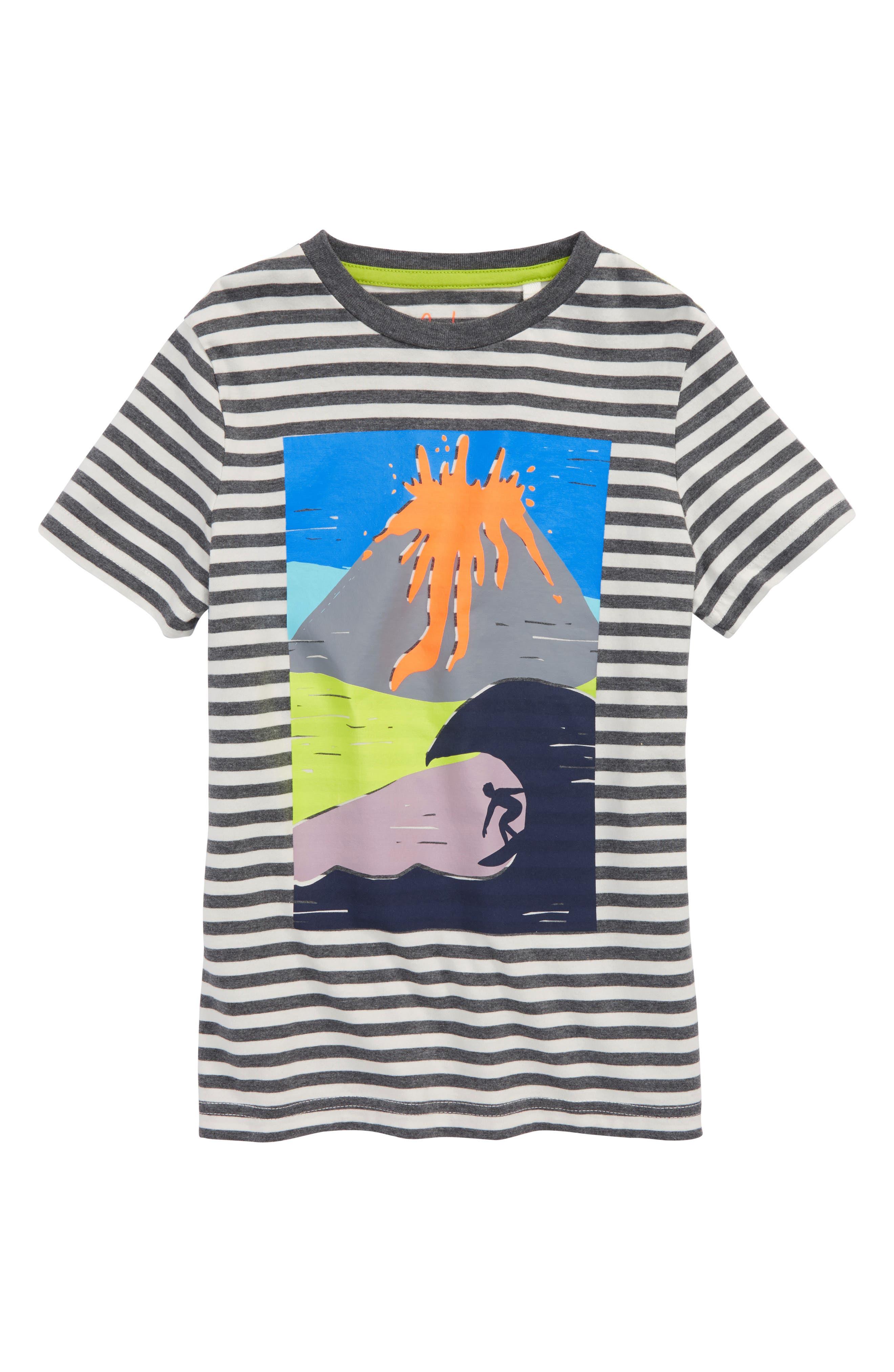 Arty Volcano T-Shirt,                             Main thumbnail 1, color,                             062