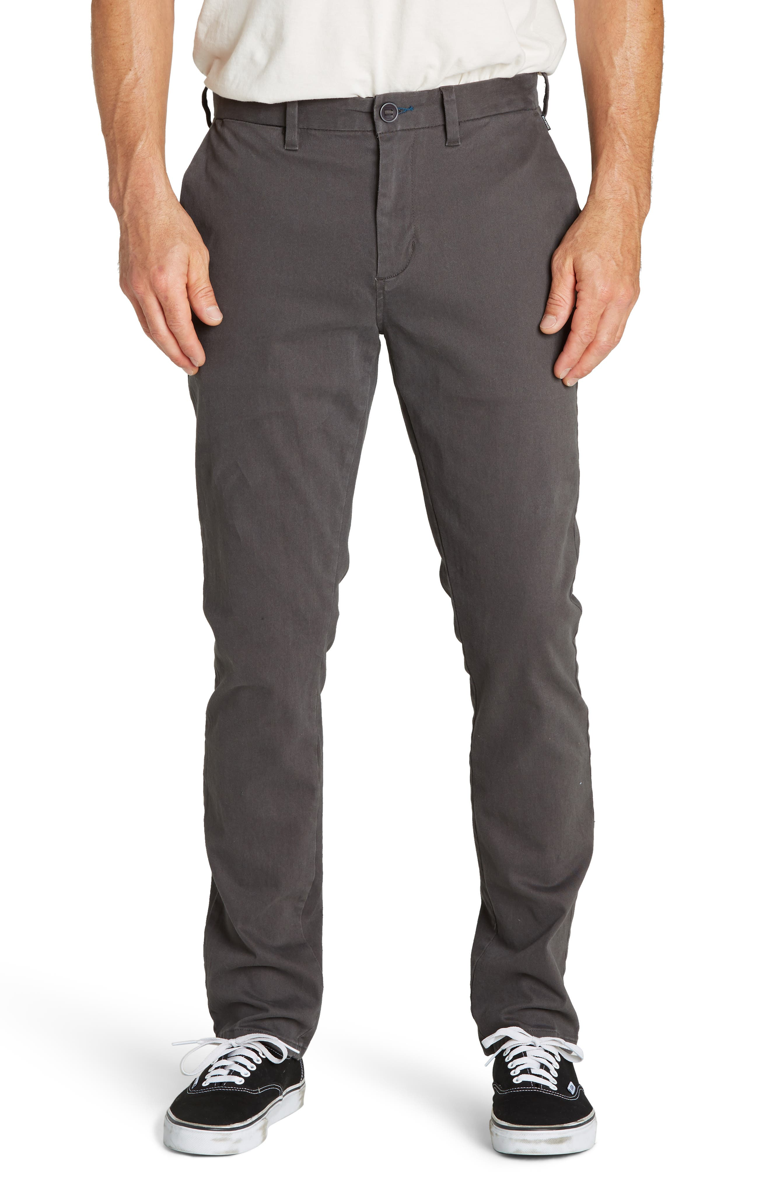 New Order Slim Straight Chinos,                         Main,                         color, GRAVEL