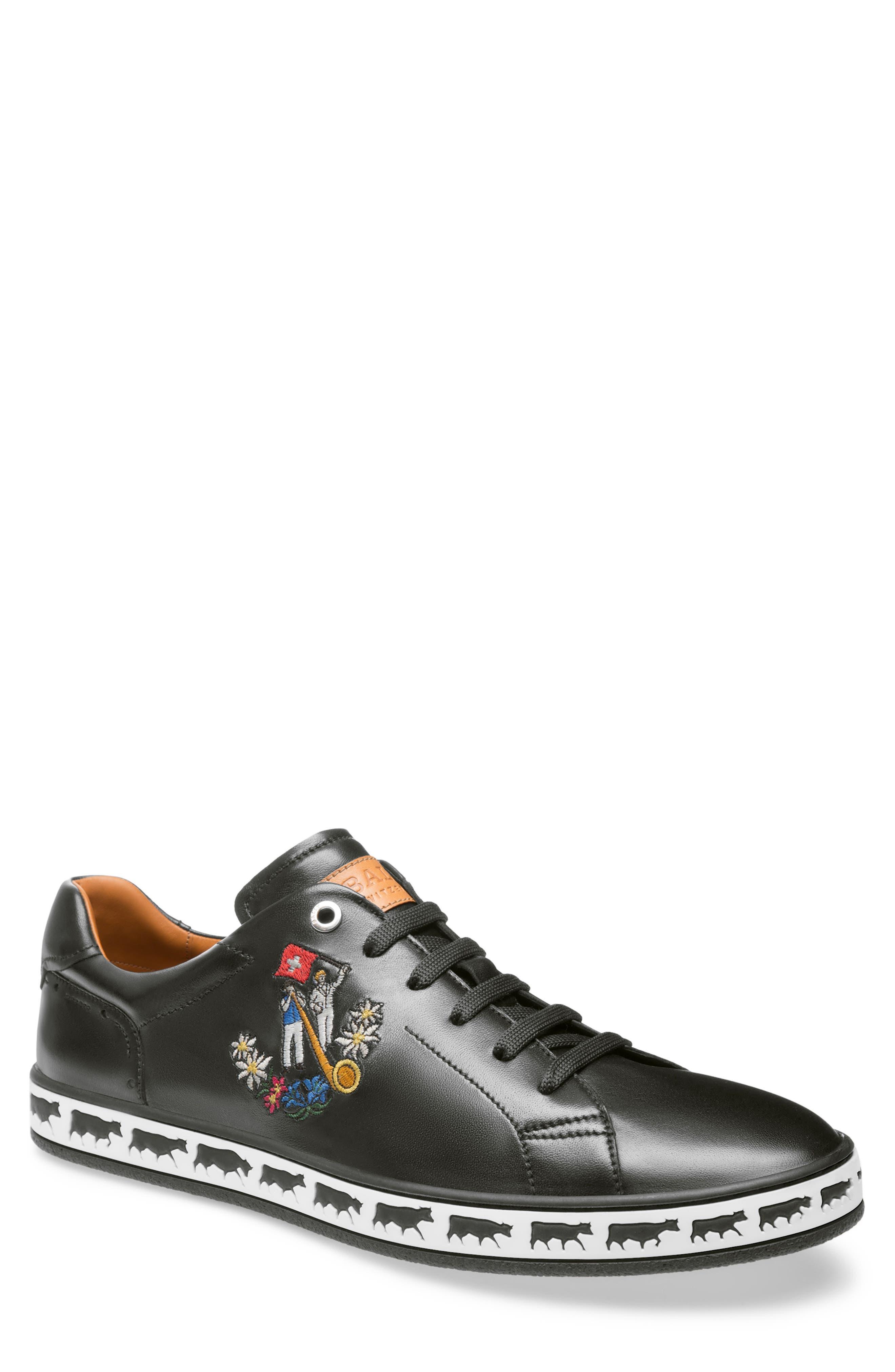 Anistern Sneaker,                         Main,                         color, BLACK