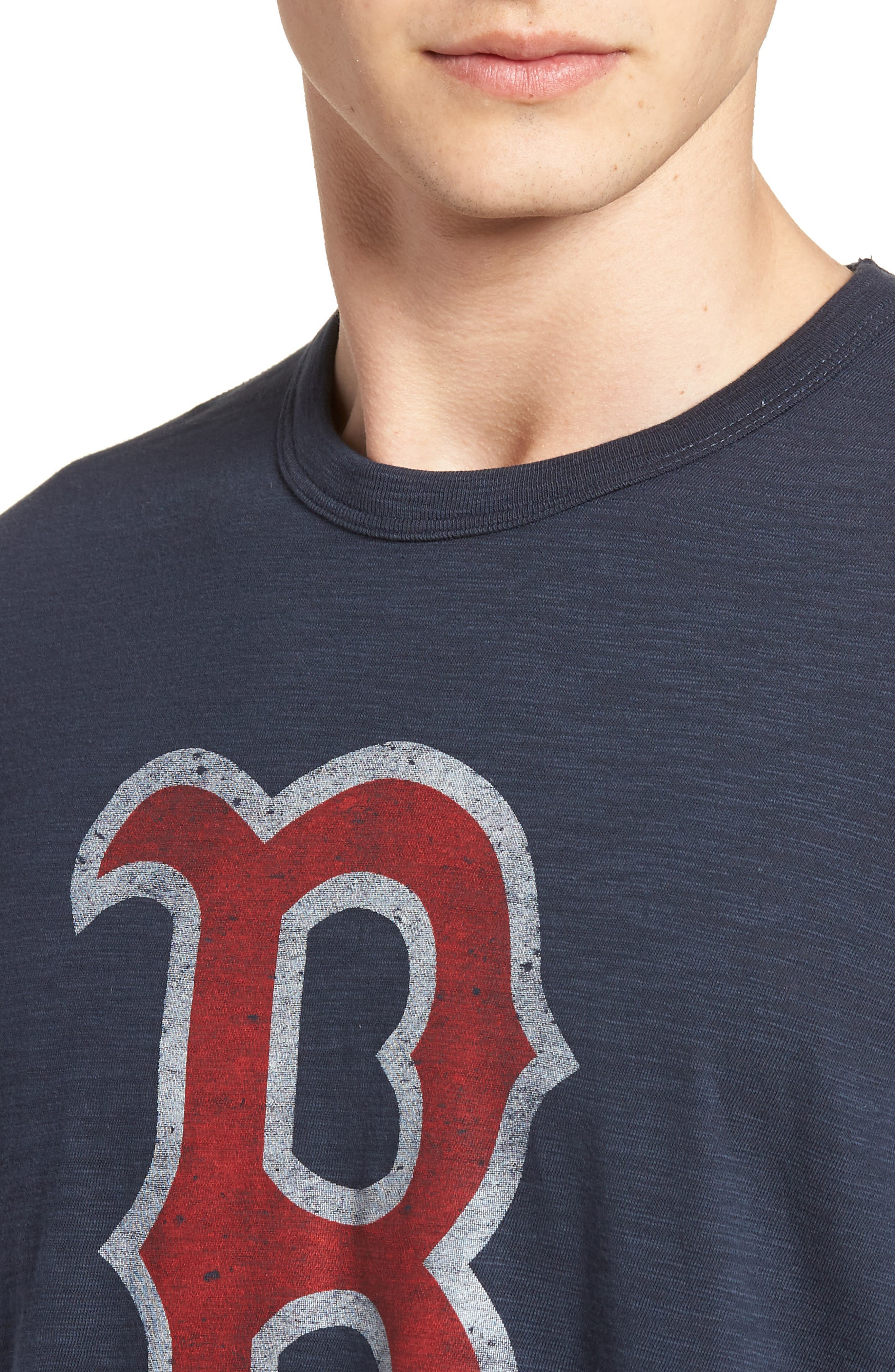Grit Scrum Boston Red Sox T-Shirt,                             Alternate thumbnail 4, color,                             410