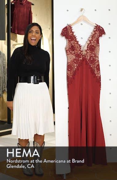 Amare Trumpet Evening Dress, sales video thumbnail