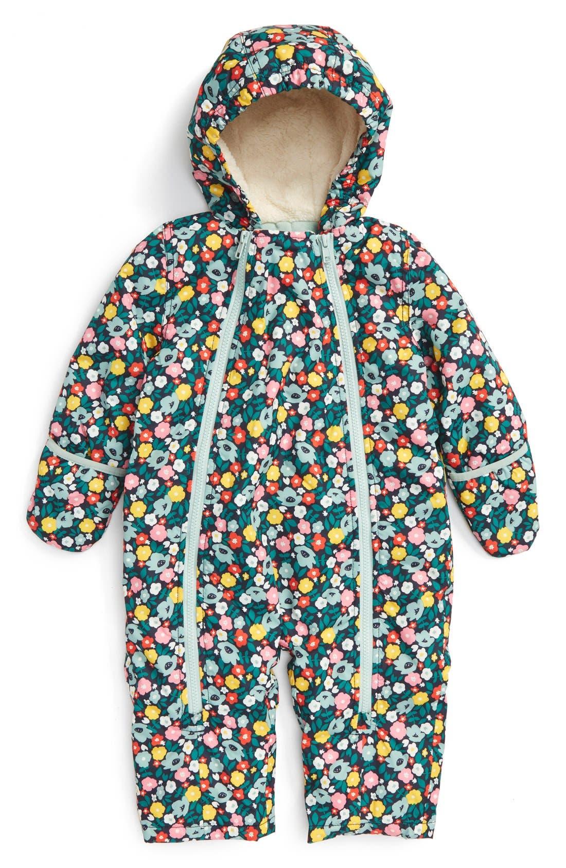 Waterproof Snowsuit, Main, color, 400