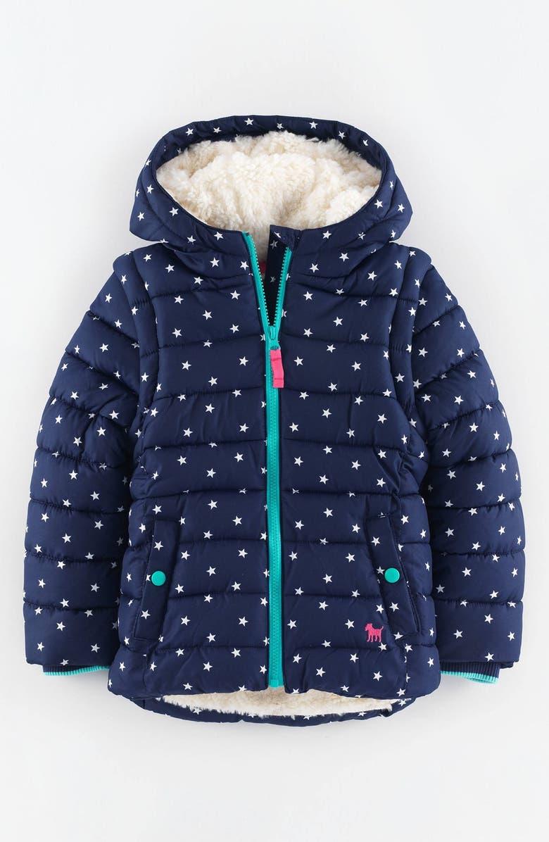 Mini Boden Convertible Quilted Jacket Toddler Girls Little Girls