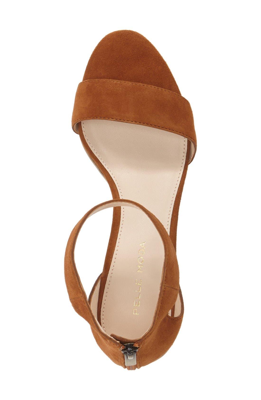 Pella Moda 'Urban' Block Heel Sandal,                             Alternate thumbnail 8, color,