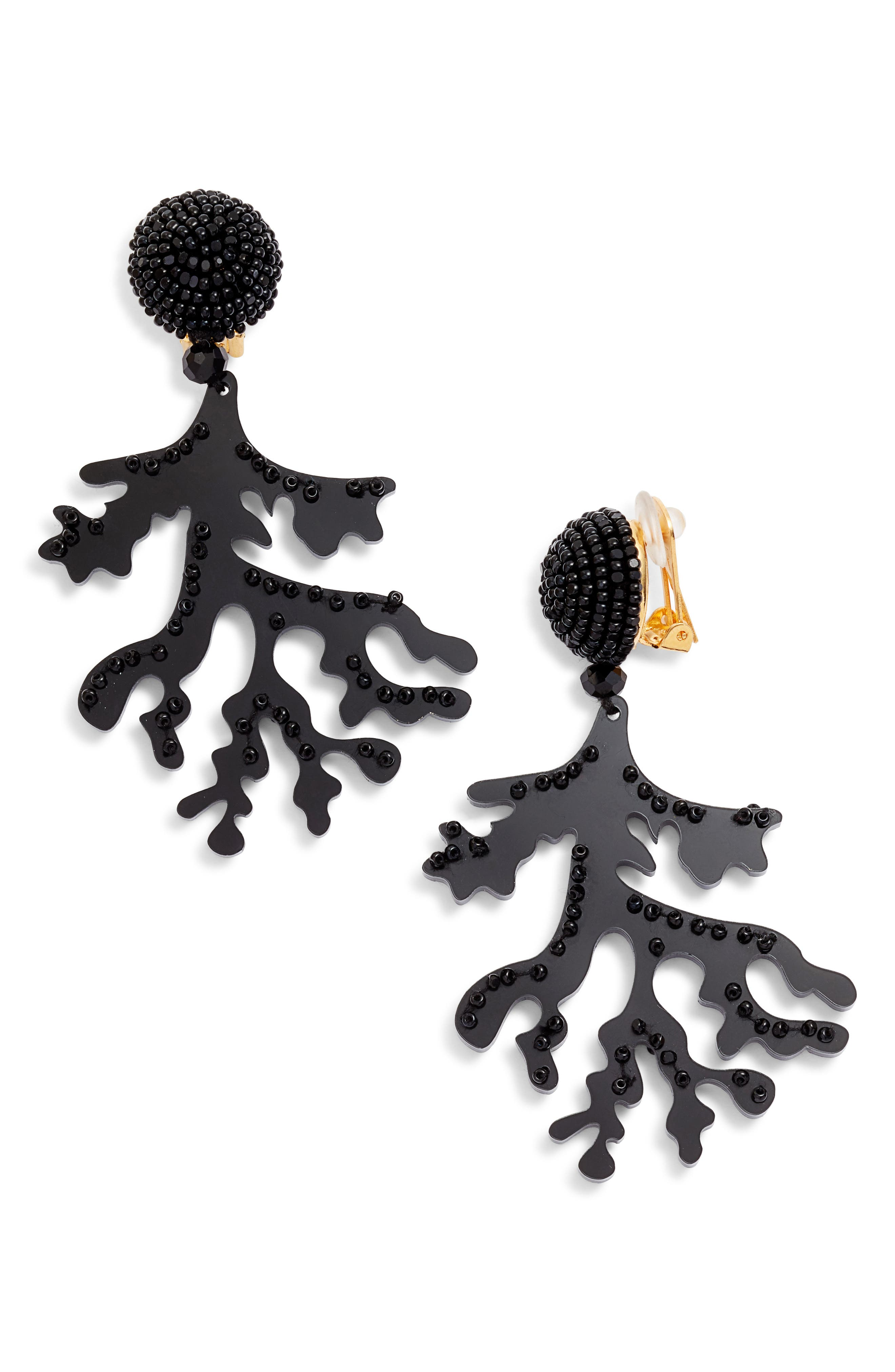 Coral Branch Drop Earrings,                         Main,                         color, 001