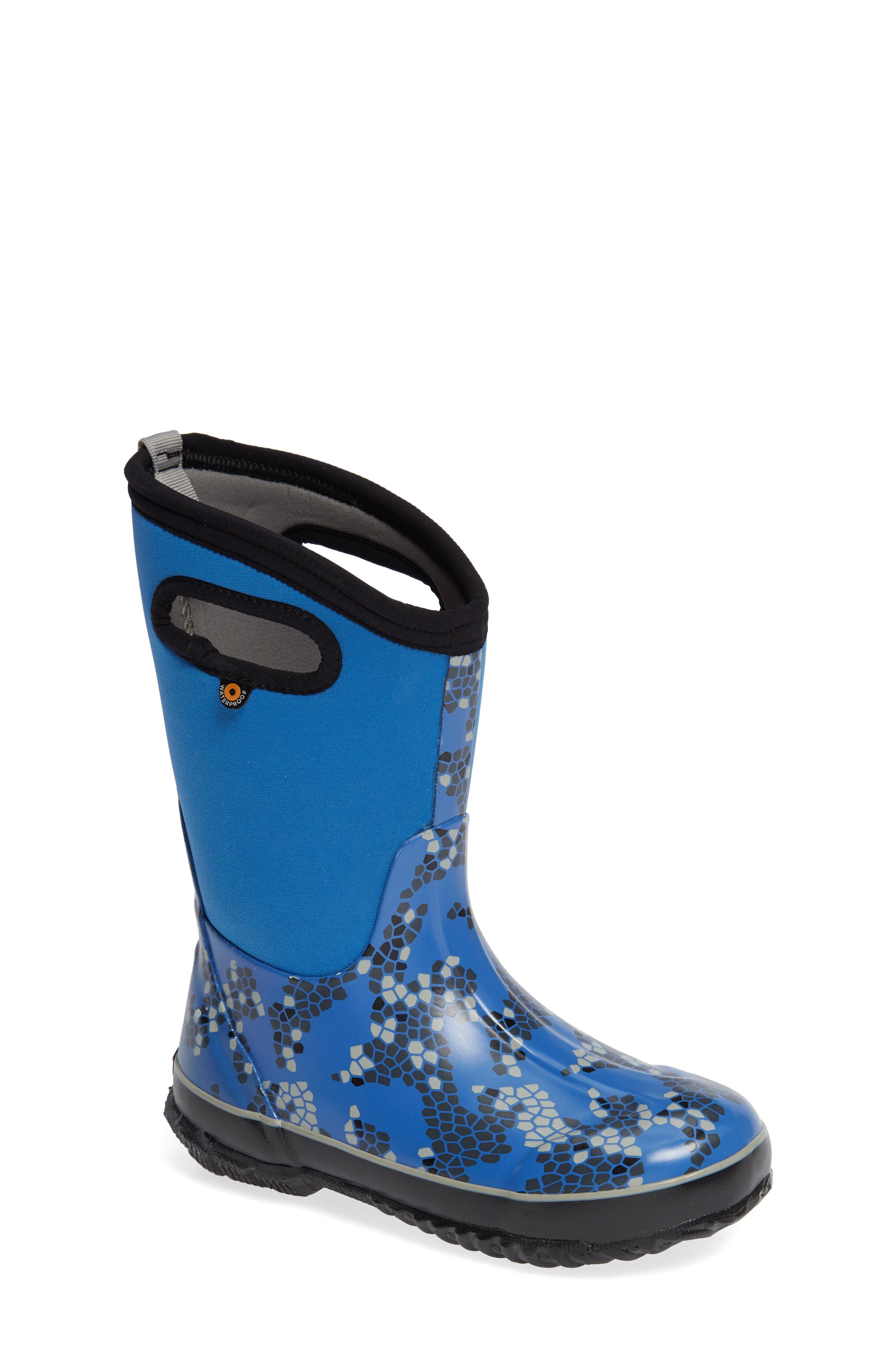 Classic Axel Insulated Waterproof Boot,                         Main,                         color, BLUE MULTI
