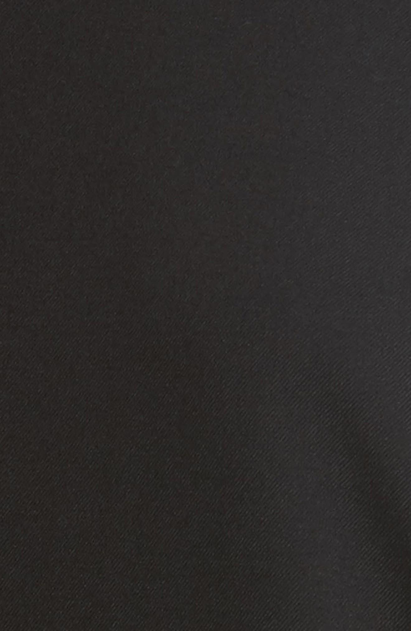 K Bottom Pleated Dress,                             Alternate thumbnail 6, color,                             001