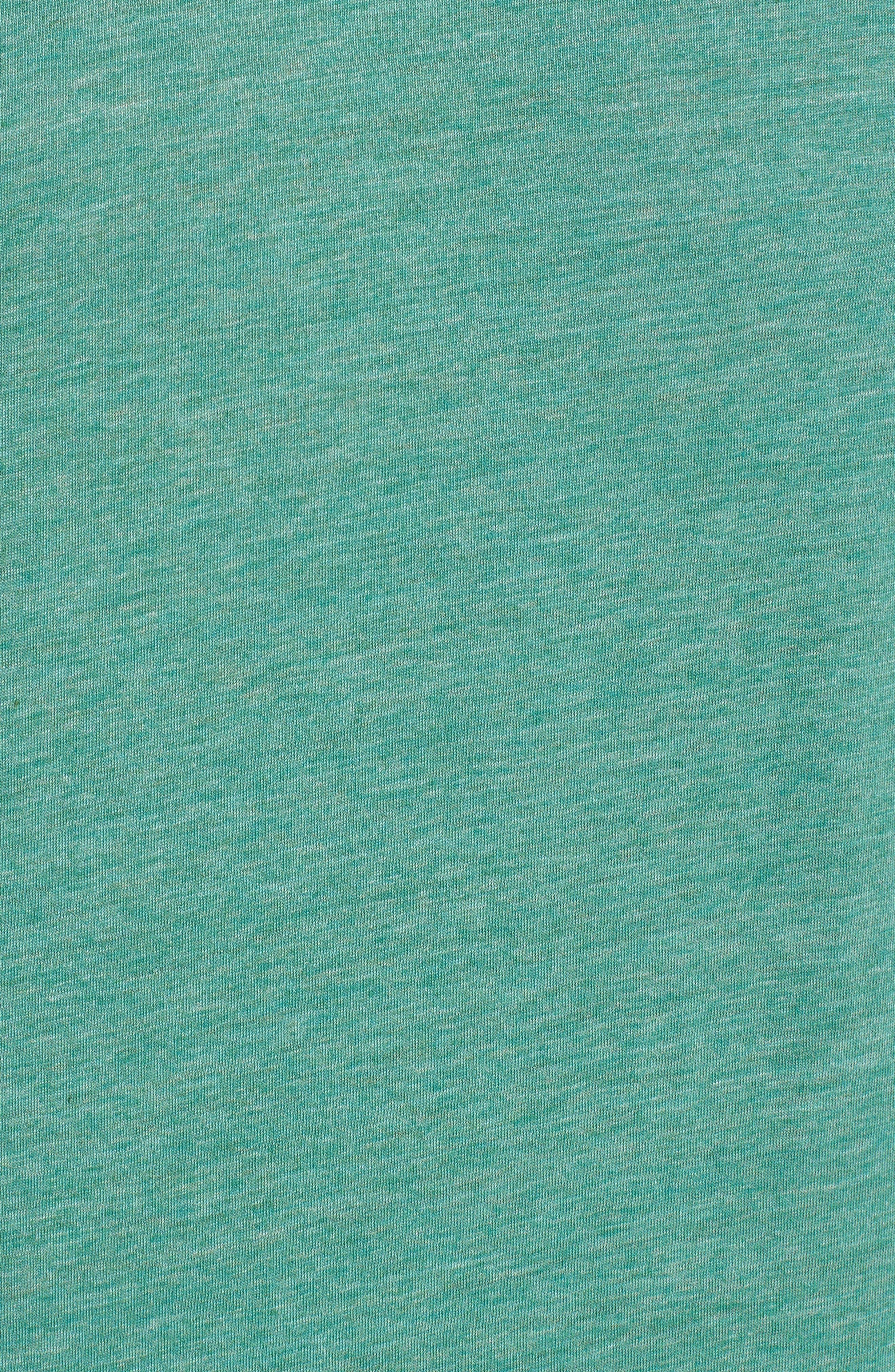 Scallop Triblend Crewneck T-Shirt,                             Alternate thumbnail 99, color,