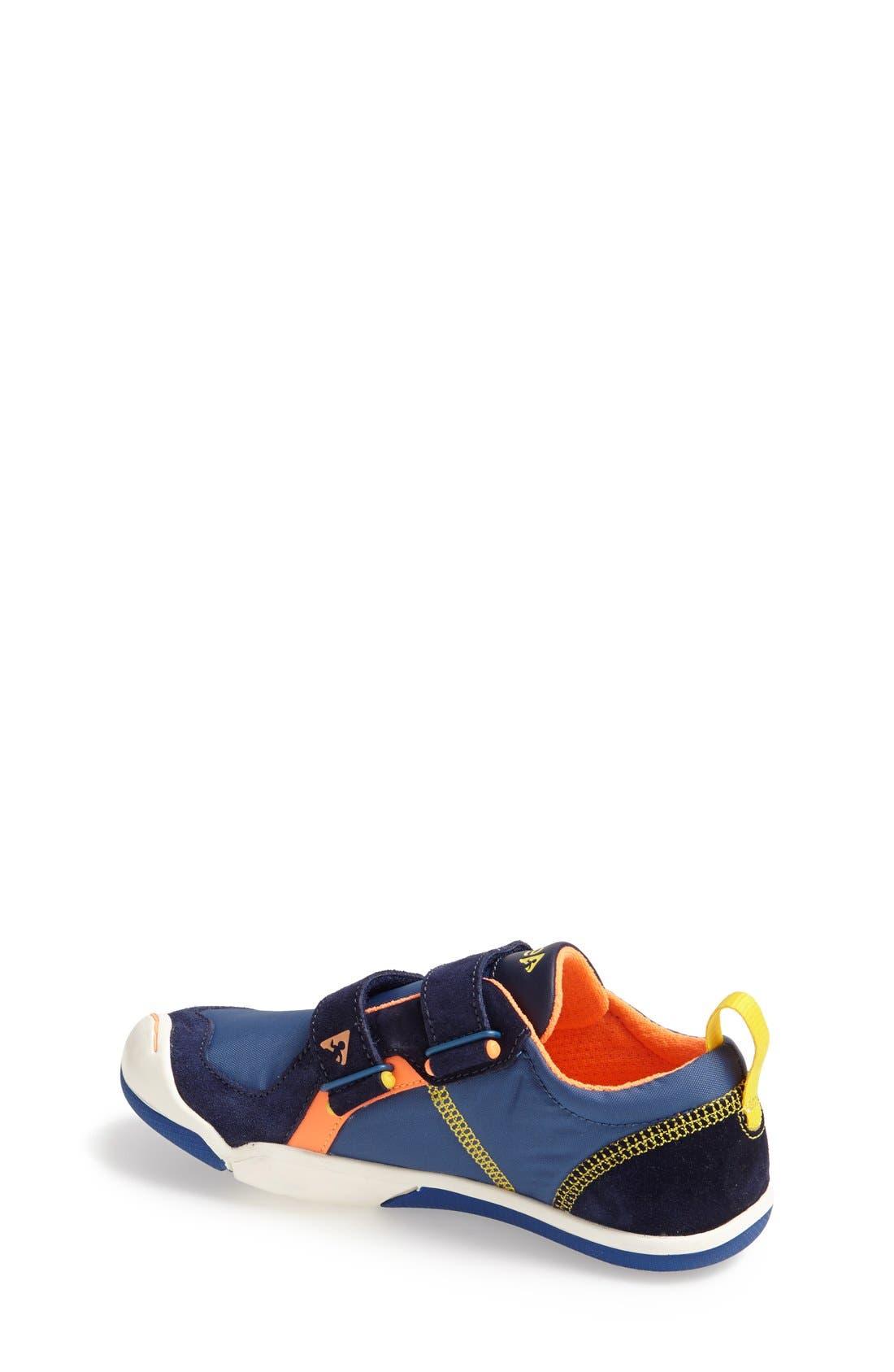 Ty Customizable Sneaker,                             Alternate thumbnail 2, color,                             DARK BLUE