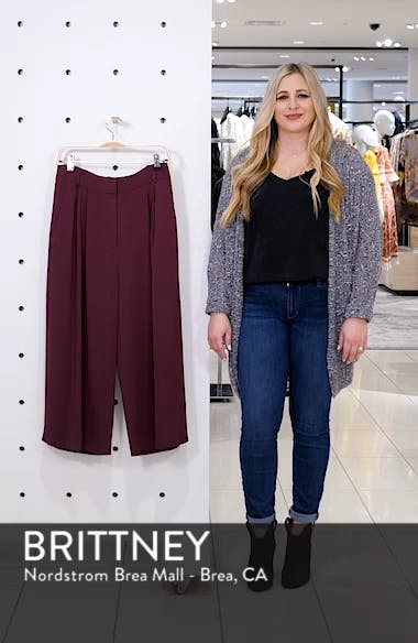 Stella Stretch Suiting Crop Pants, sales video thumbnail