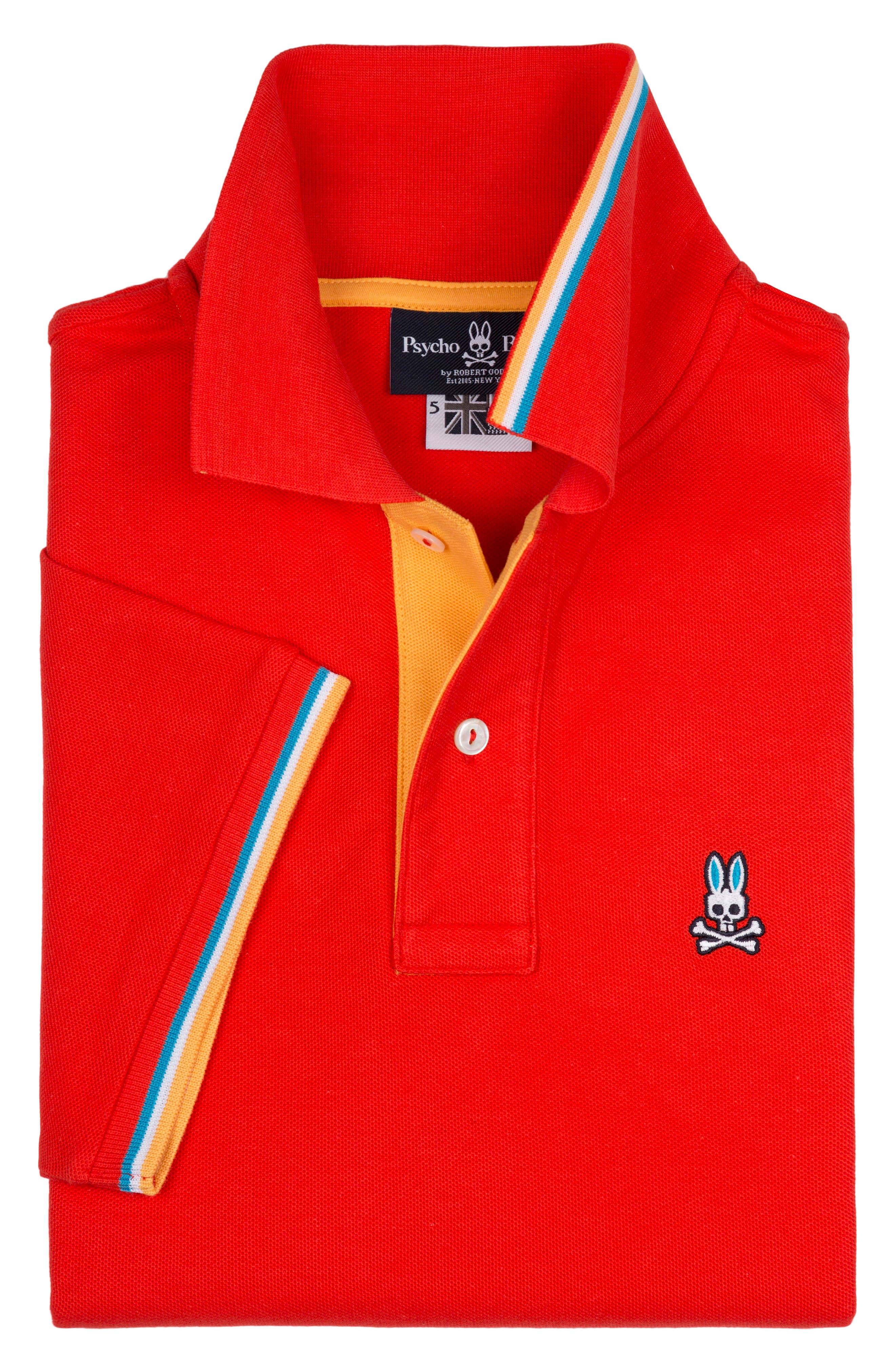 St Croix Polo,                             Alternate thumbnail 2, color,                             STRAWBERRY