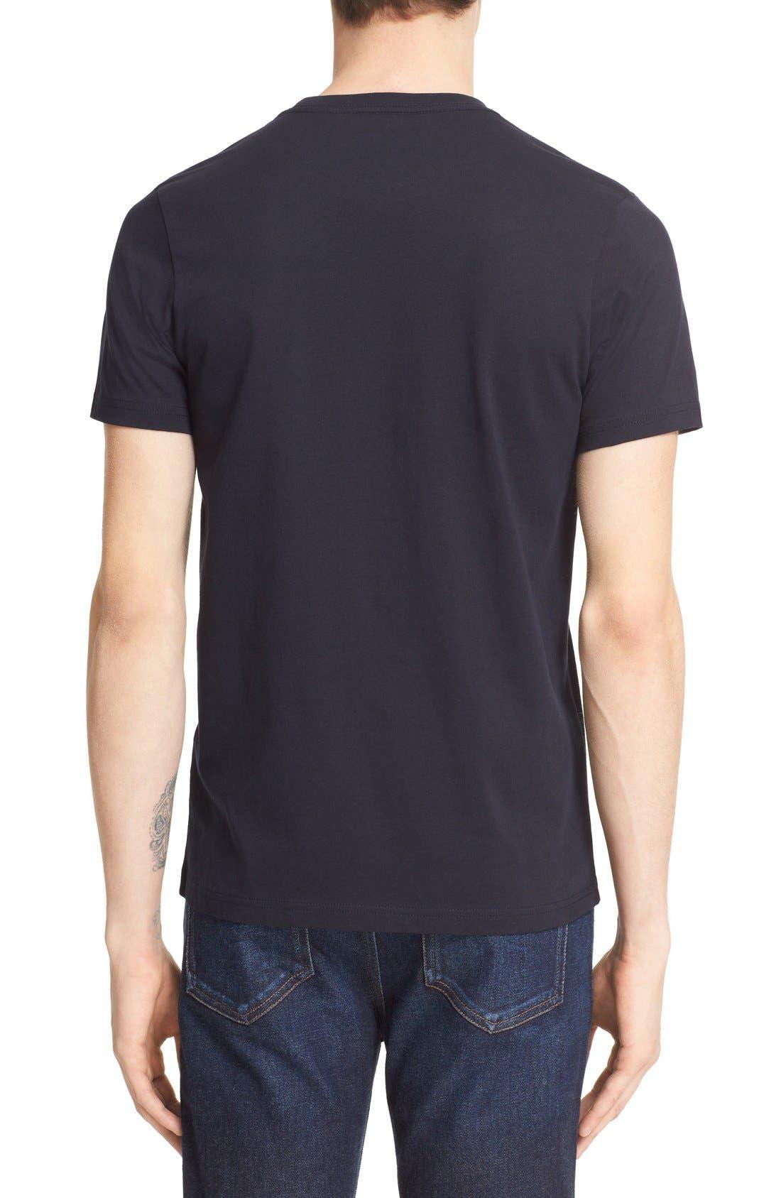 Paul Smith 'P.S. I Love You' Graphic Cotton T-Shirt,                             Alternate thumbnail 2, color,                             414
