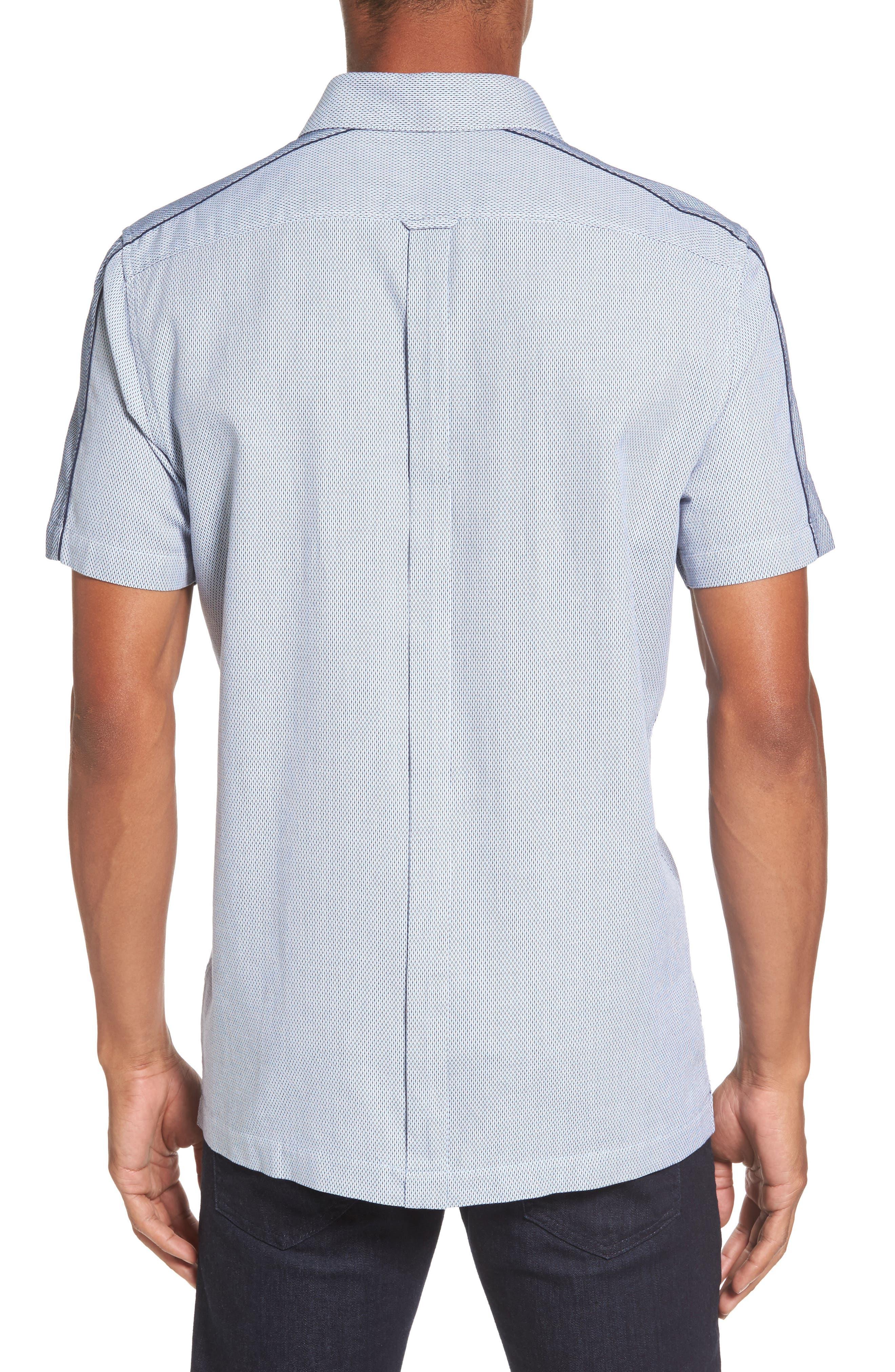 Dobby Short Sleeve Shirt,                             Alternate thumbnail 2, color,                             450