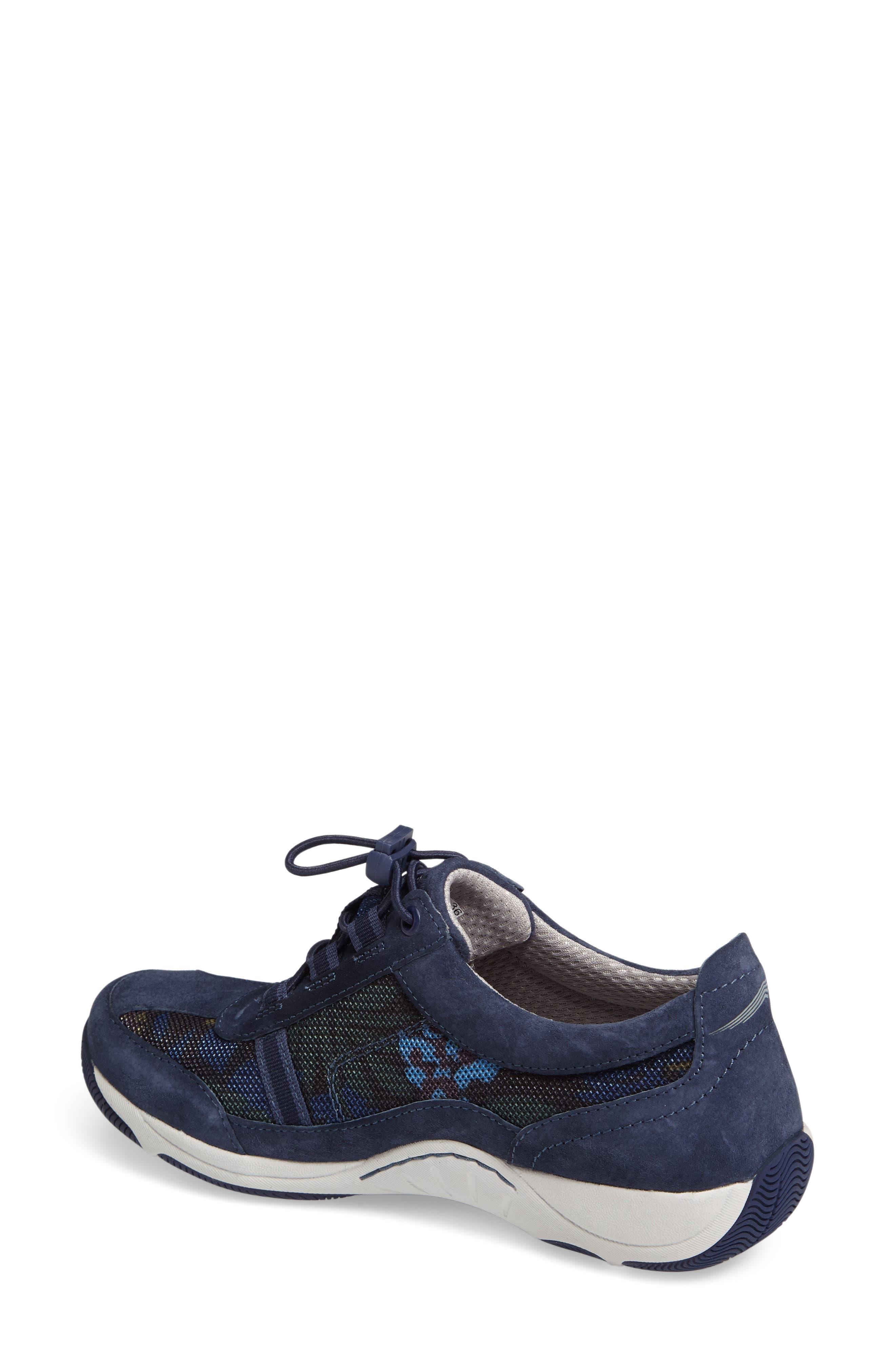 'Helen' Suede & Mesh Sneaker,                             Alternate thumbnail 28, color,