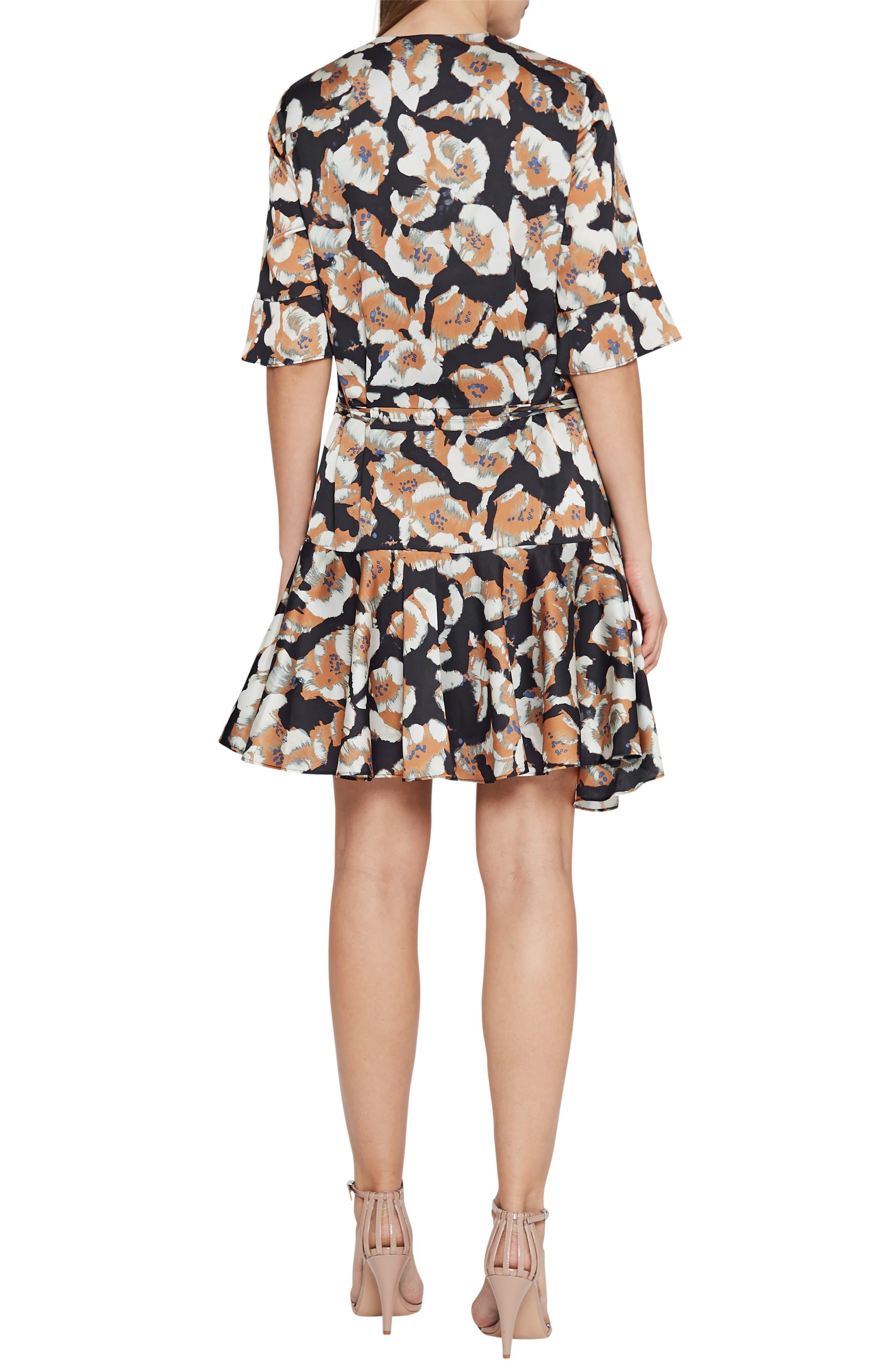 Kianni Floral Fit & Flare Dress,                             Alternate thumbnail 2, color,                             MULTI