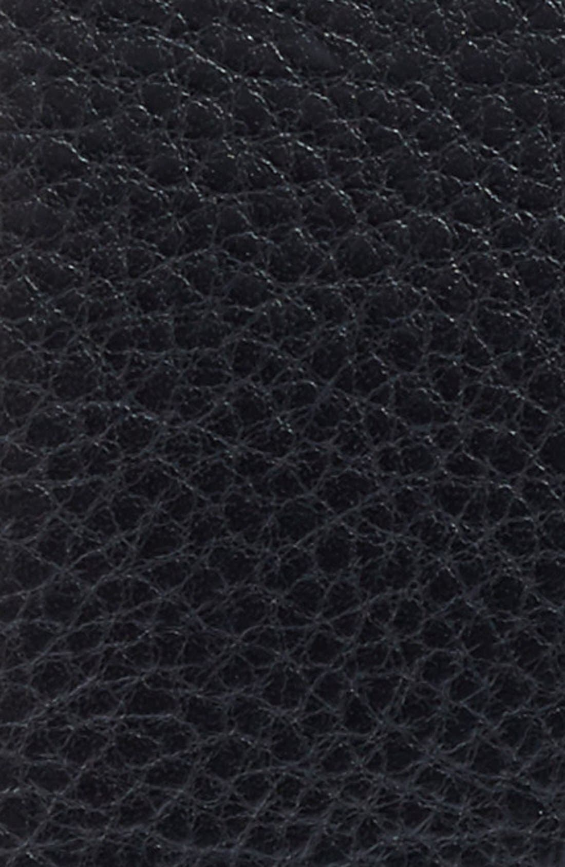 Bosca Heavyweight Leather Belt, Black