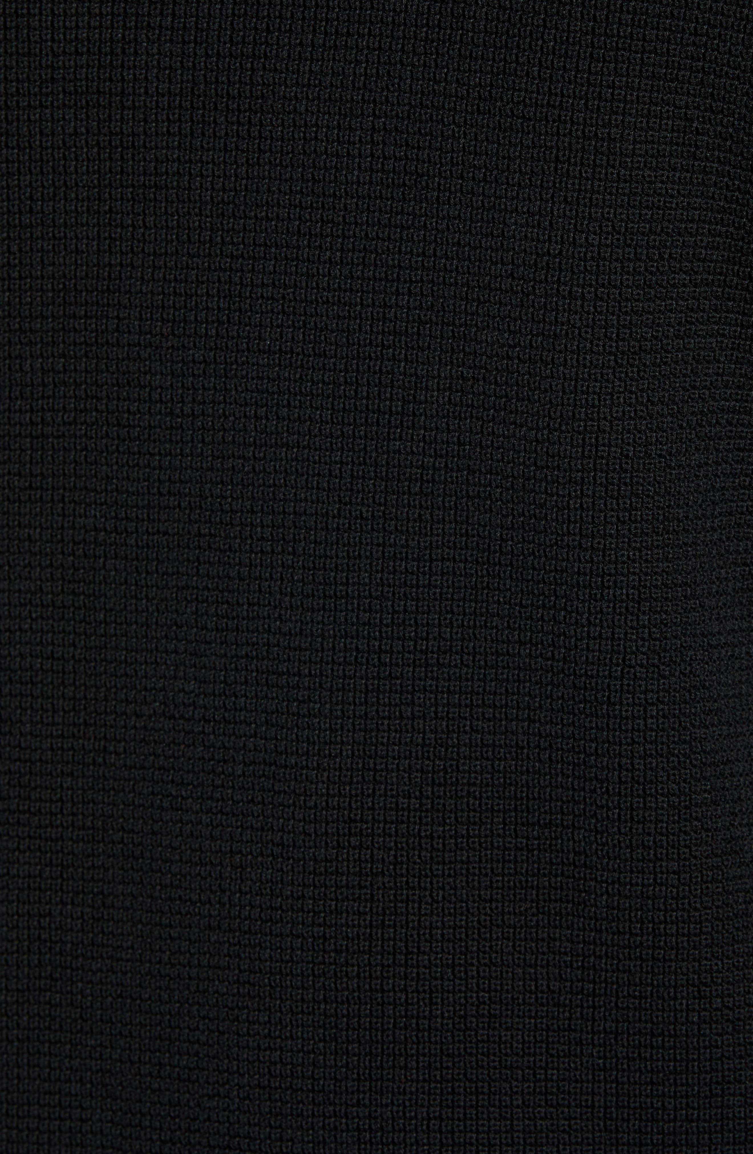 Dami Regular Fit Pullover Hoodie,                             Alternate thumbnail 5, color,                             001