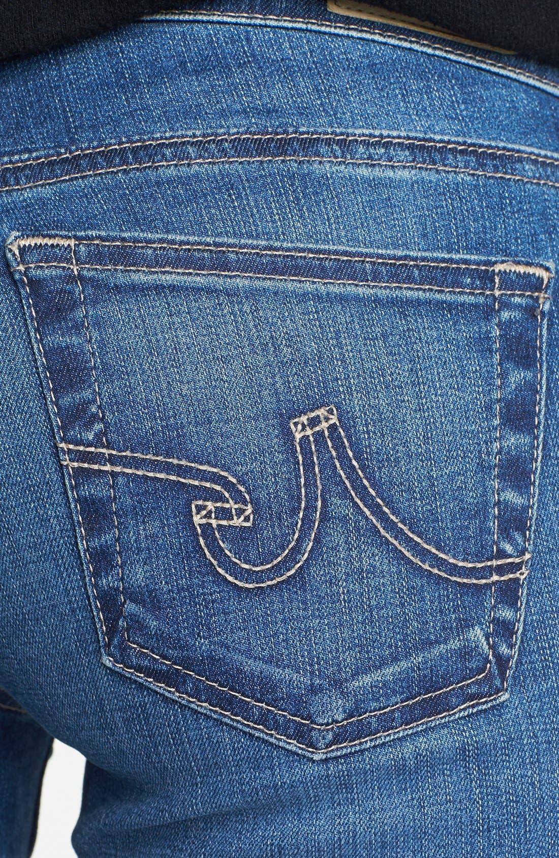 'The Stilt' Cigarette Leg Jeans,                             Alternate thumbnail 7, color,                             401