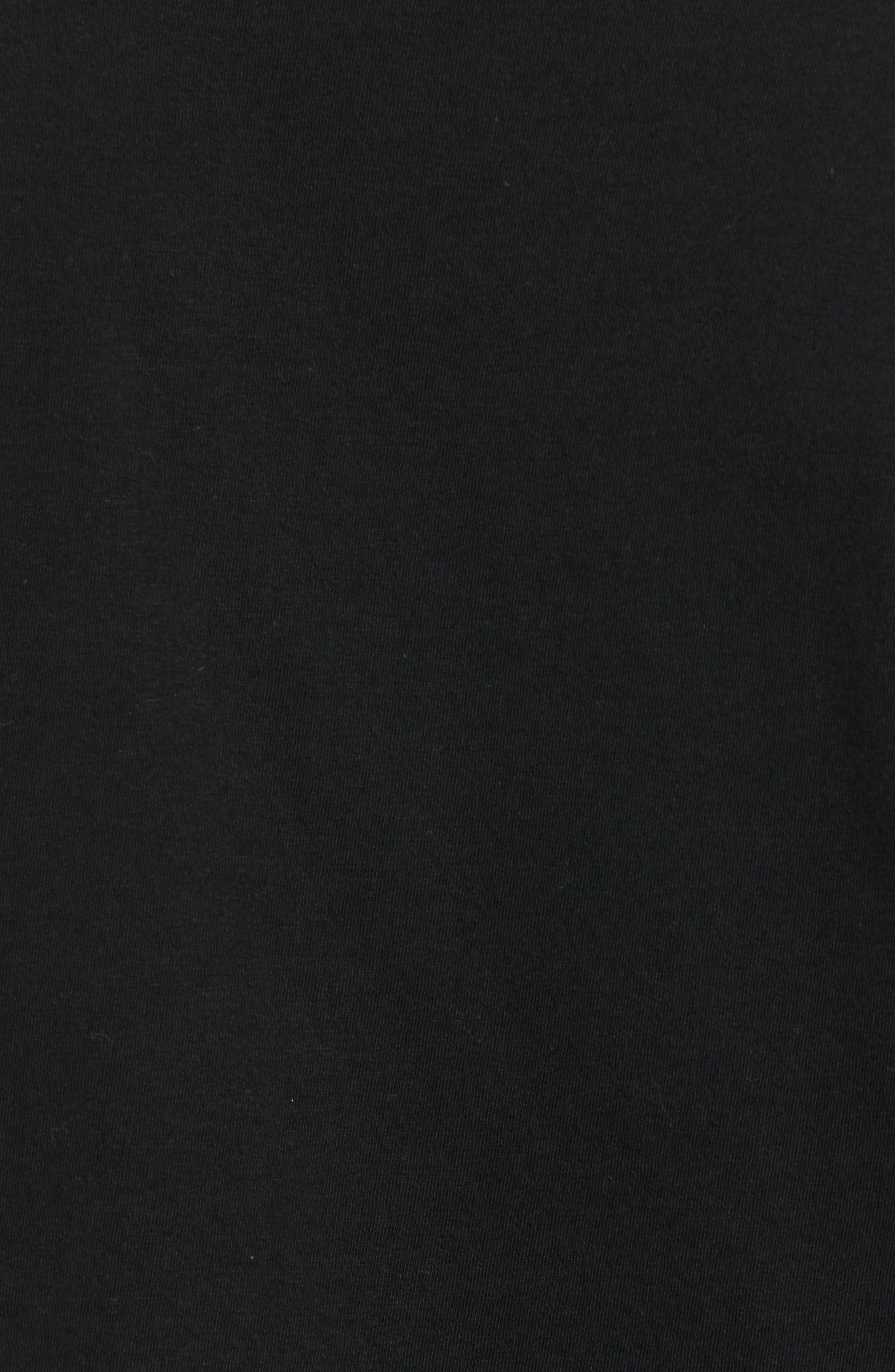 Ideal Power Premium T-Shirt,                             Alternate thumbnail 5, color,                             BLACK