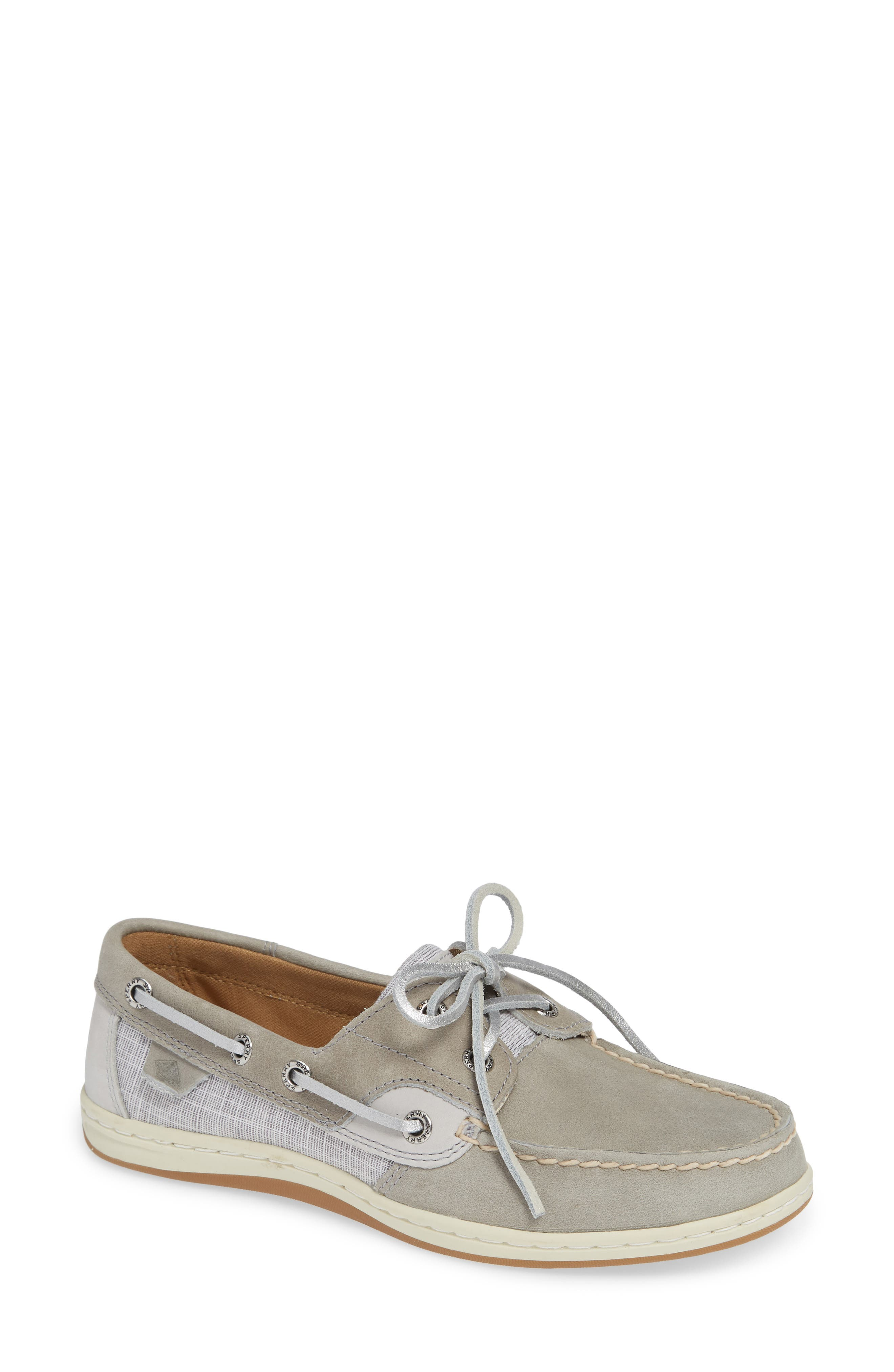 Top-Sider Koifish Loafer,                             Main thumbnail 1, color,                             GREY LEATHER