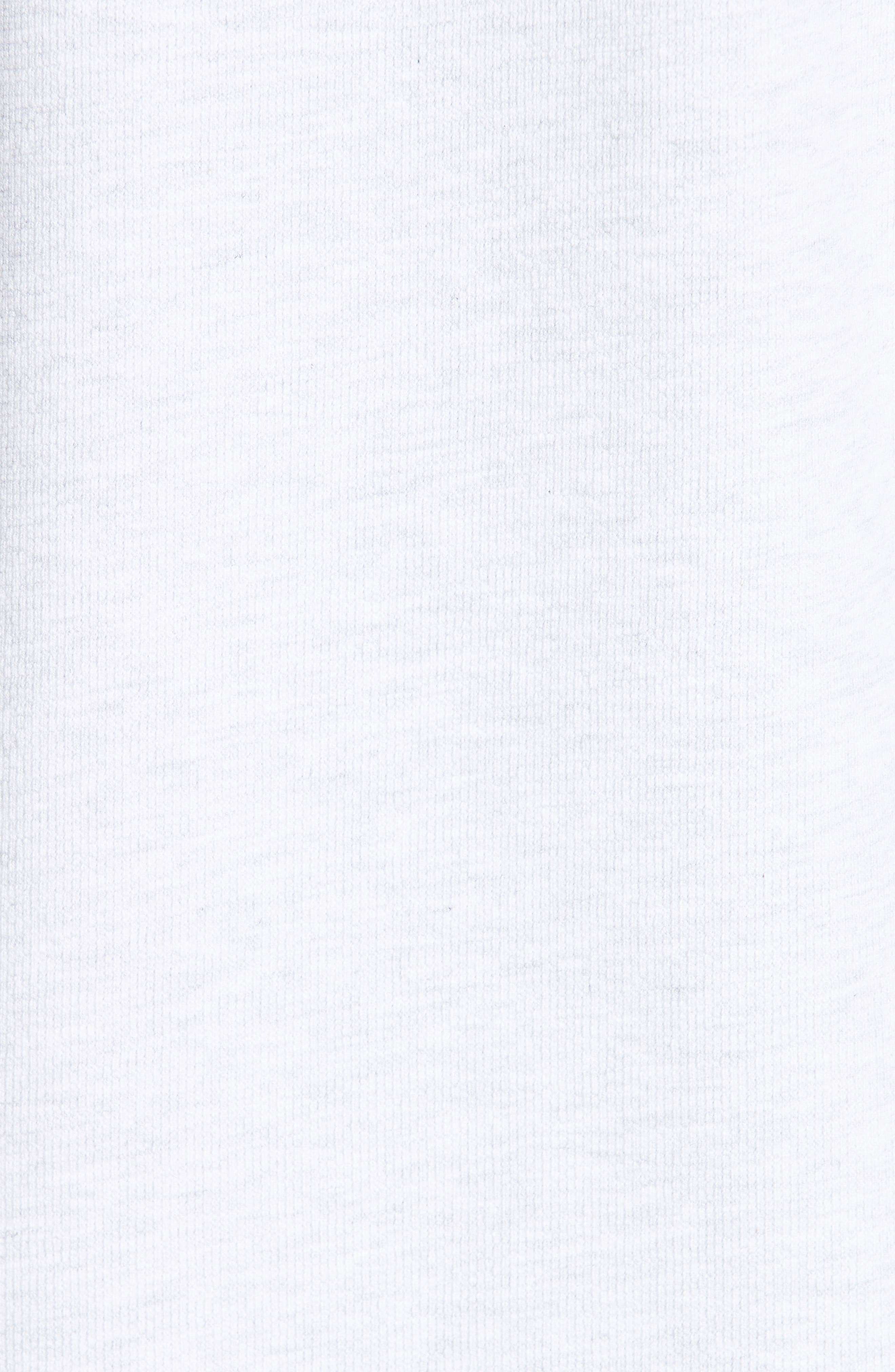 High Summer Logo T-Shirt Dress,                             Alternate thumbnail 5, color,                             PALE GREY
