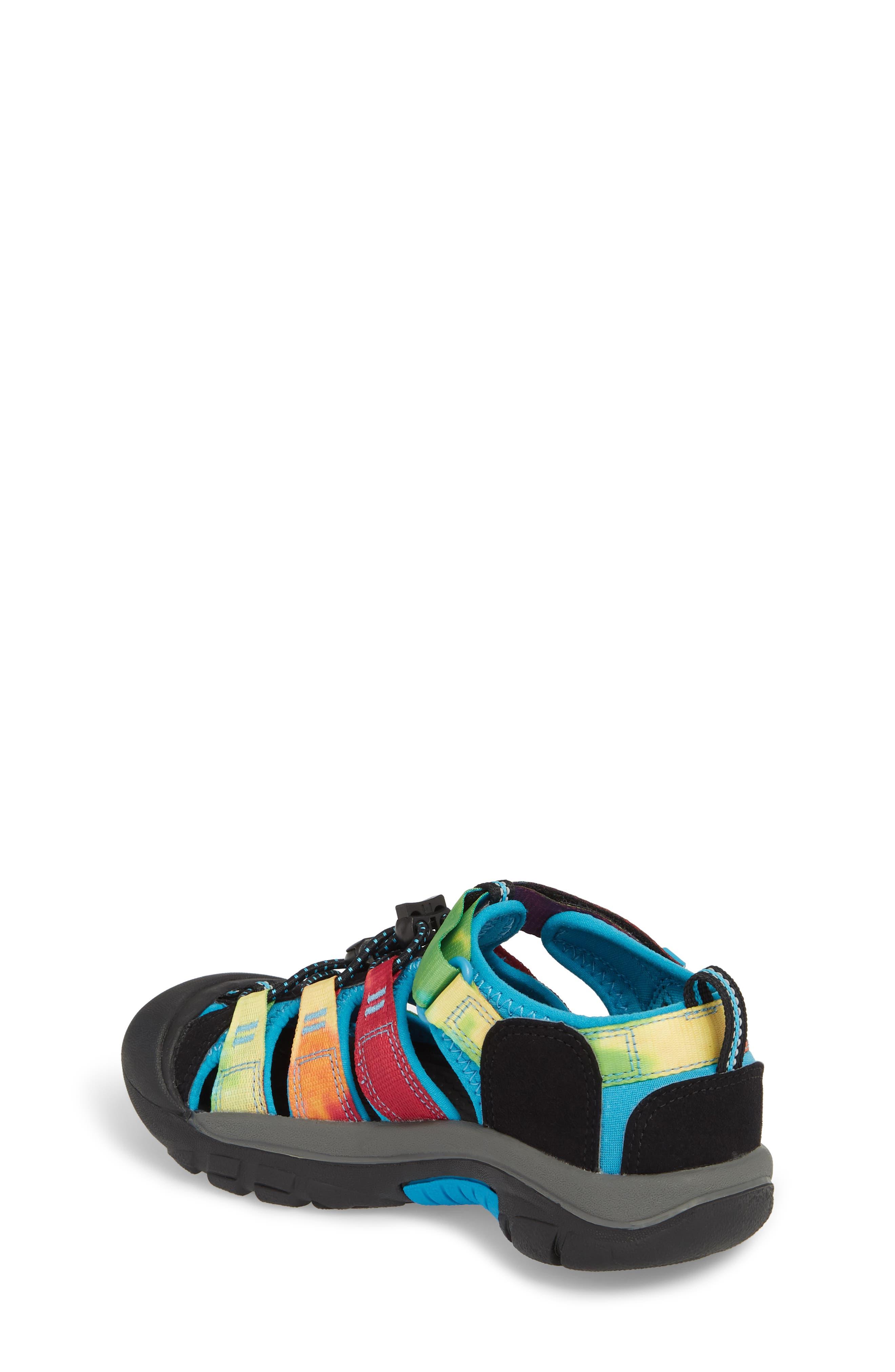'Newport H2' Water Friendly Sandal,                             Alternate thumbnail 2, color,                             RAINBOW TIE DYE