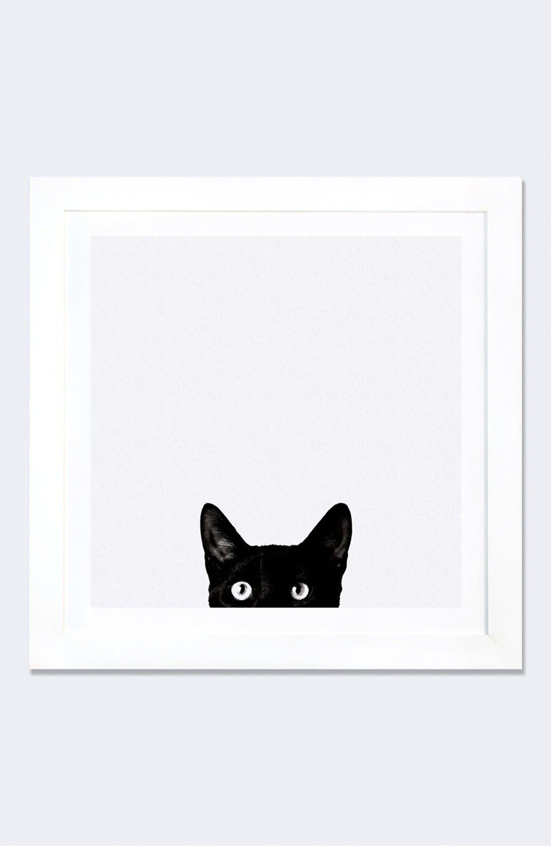 Curiosity Framed Fine Art Print,                         Main,                         color, 100