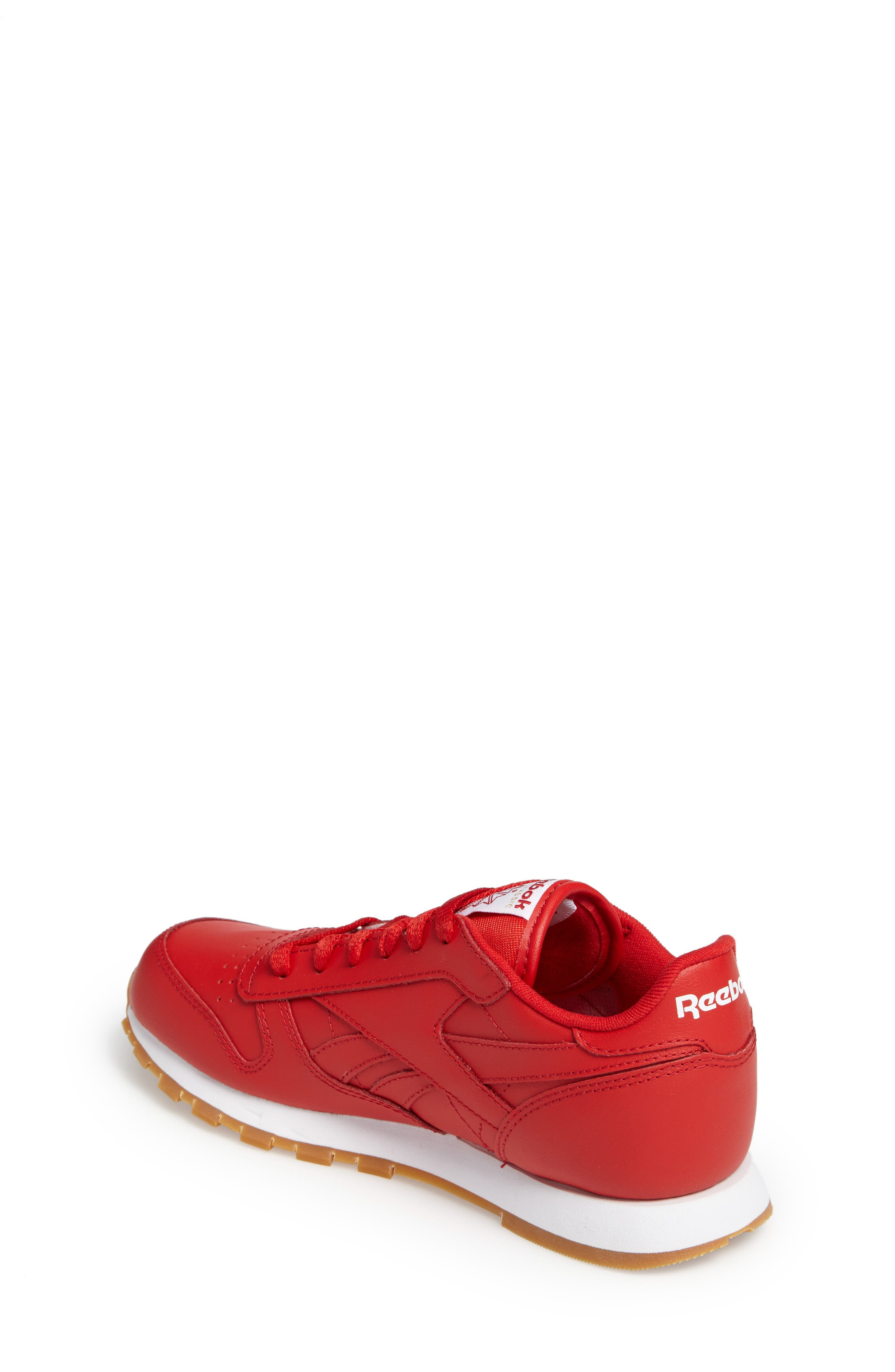 Classic Leather Sneaker,                             Alternate thumbnail 8, color,