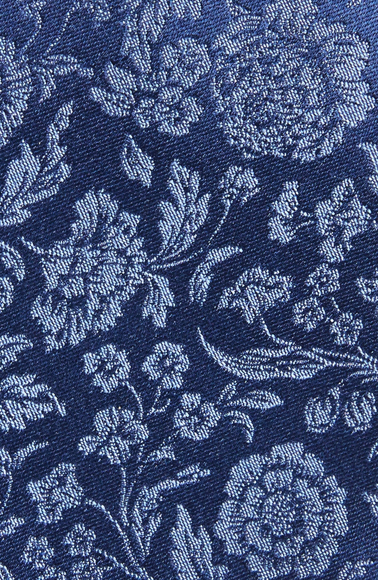 Floral Silk Tie,                             Alternate thumbnail 3, color,