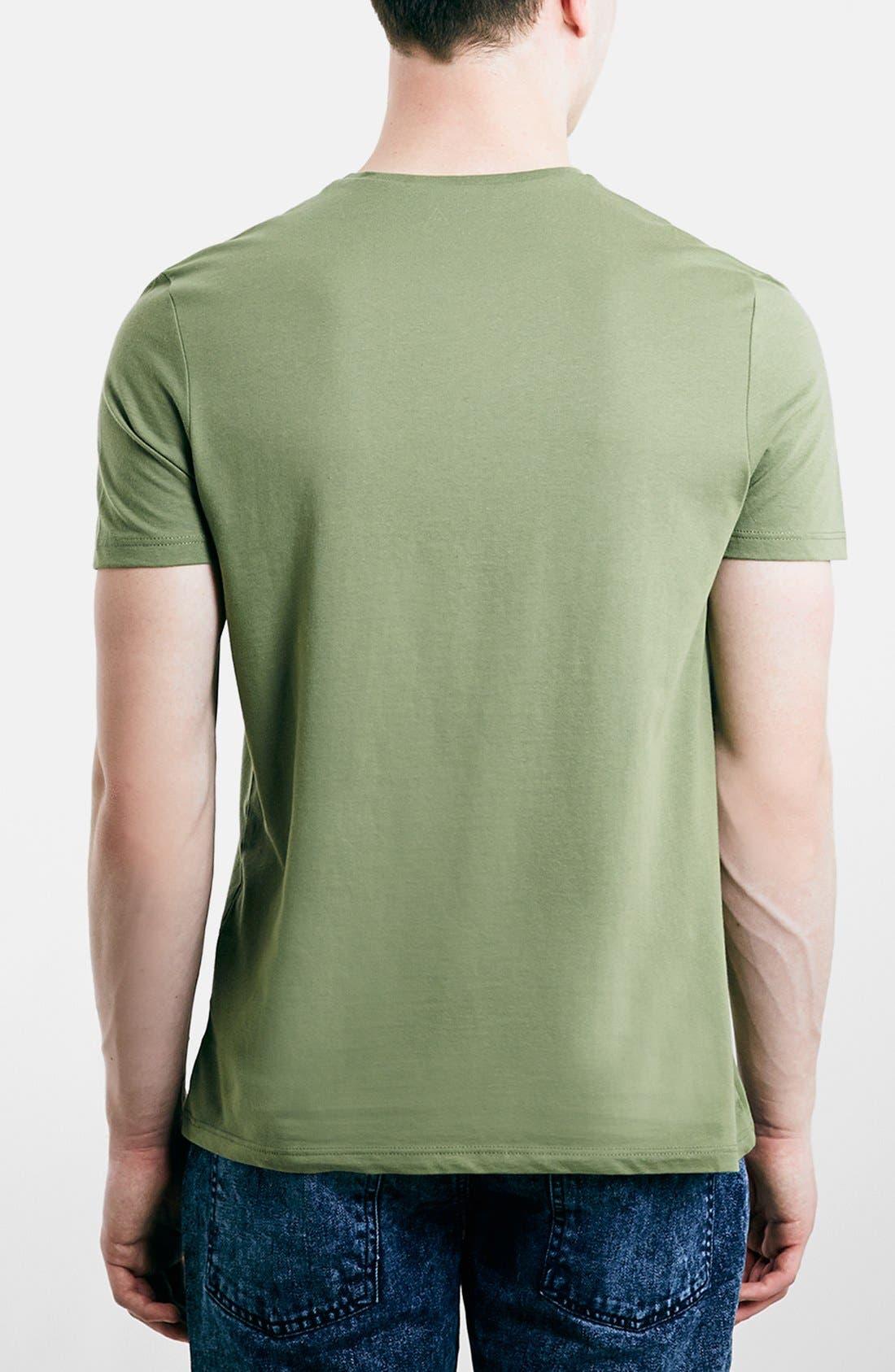 Slim Fit Crewneck T-Shirt,                             Alternate thumbnail 142, color,